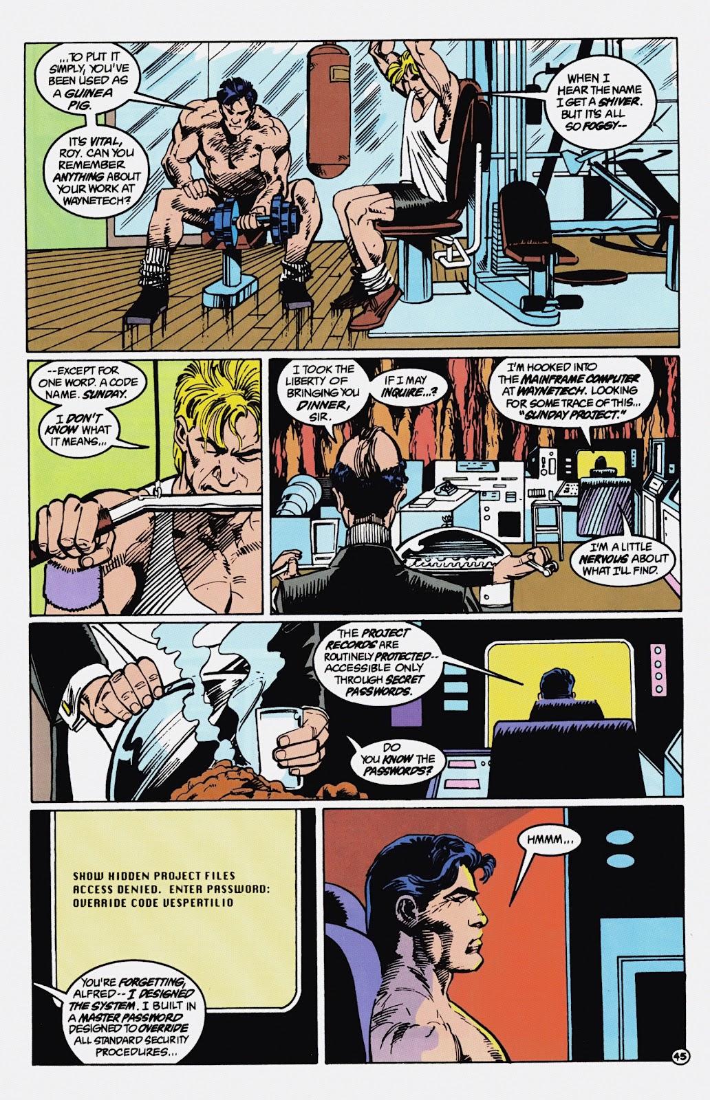 Read online Detective Comics (1937) comic -  Issue # _TPB Batman - Blind Justice (Part 1) - 50