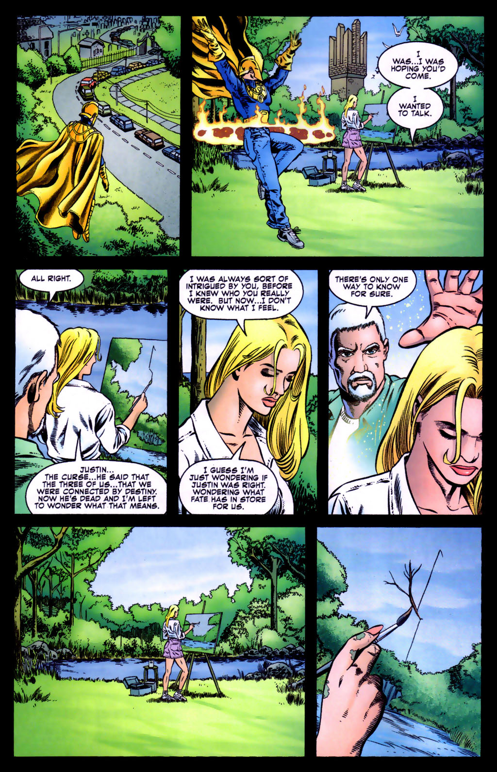 Read online Doctor Fate (2003) comic -  Issue #5 - 20