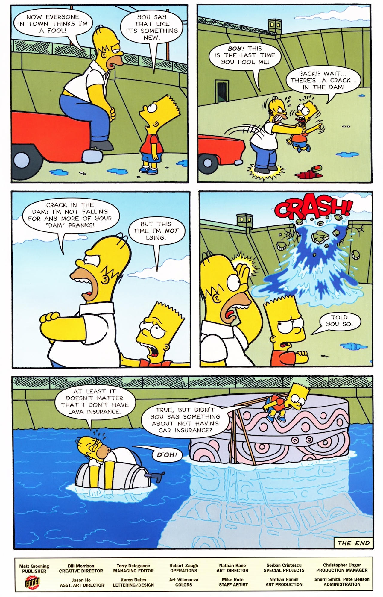 Read online Simpsons Comics comic -  Issue #152 - 26