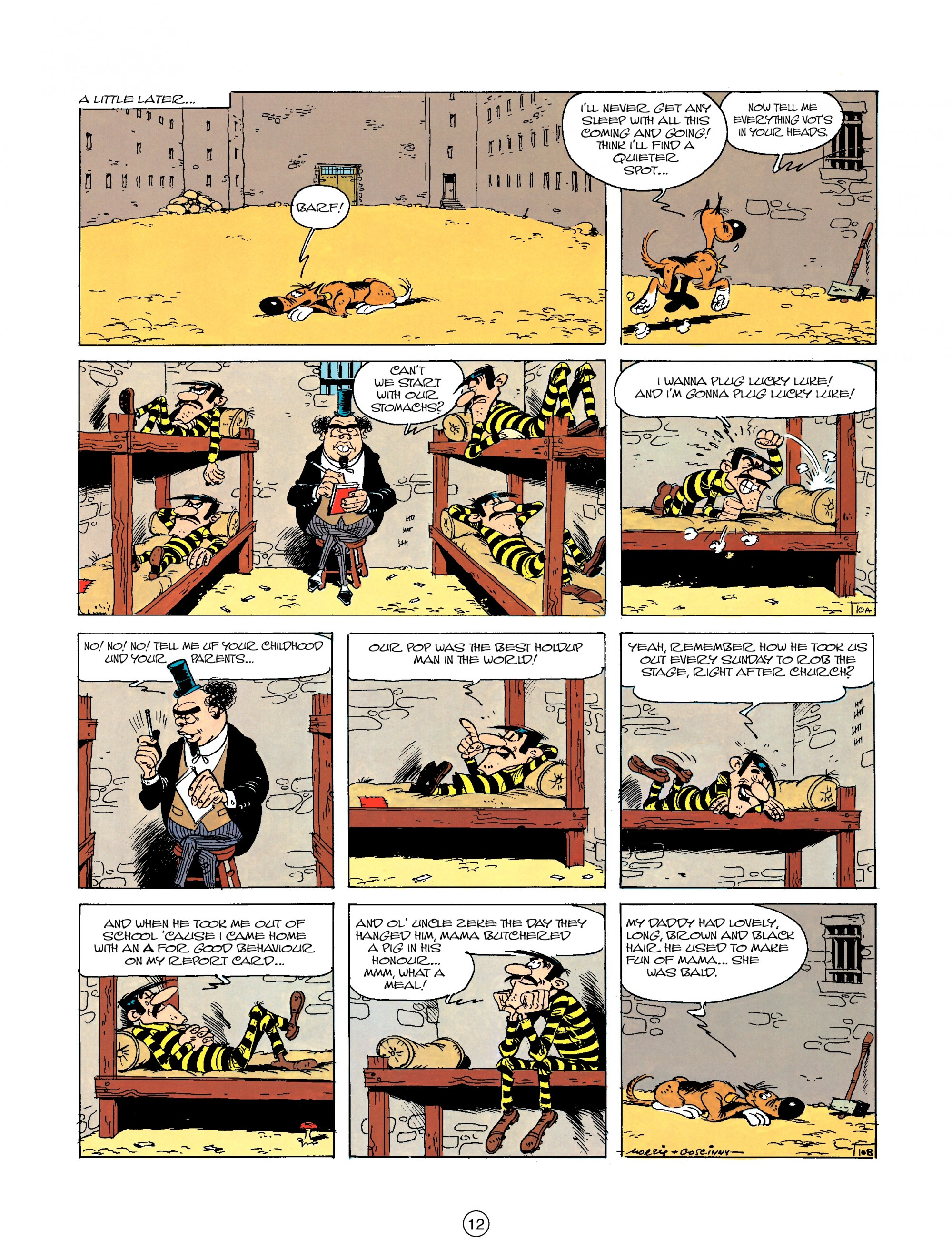 Read online A Lucky Luke Adventure comic -  Issue #23 - 12
