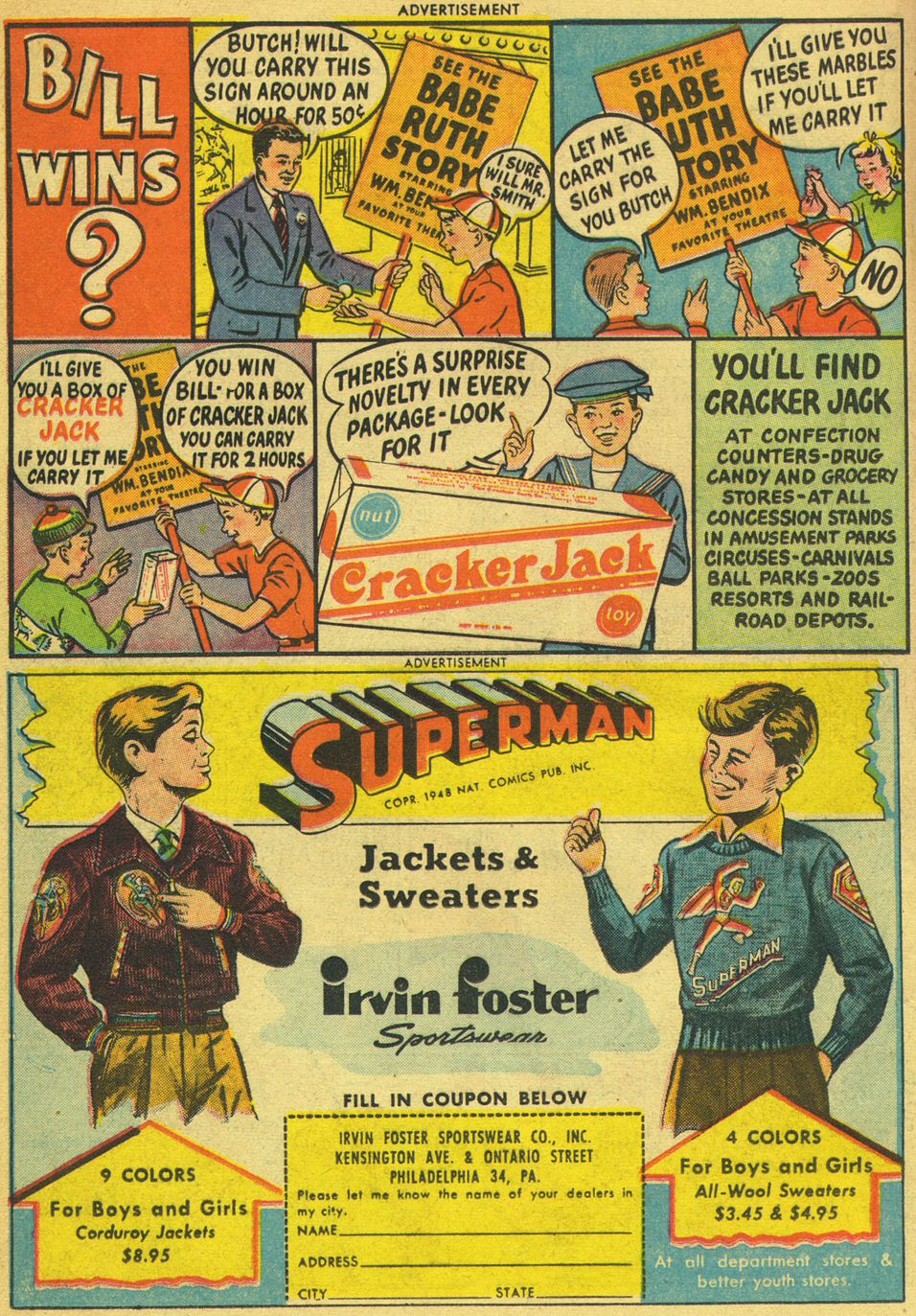 Read online Adventure Comics (1938) comic -  Issue #134 - 28
