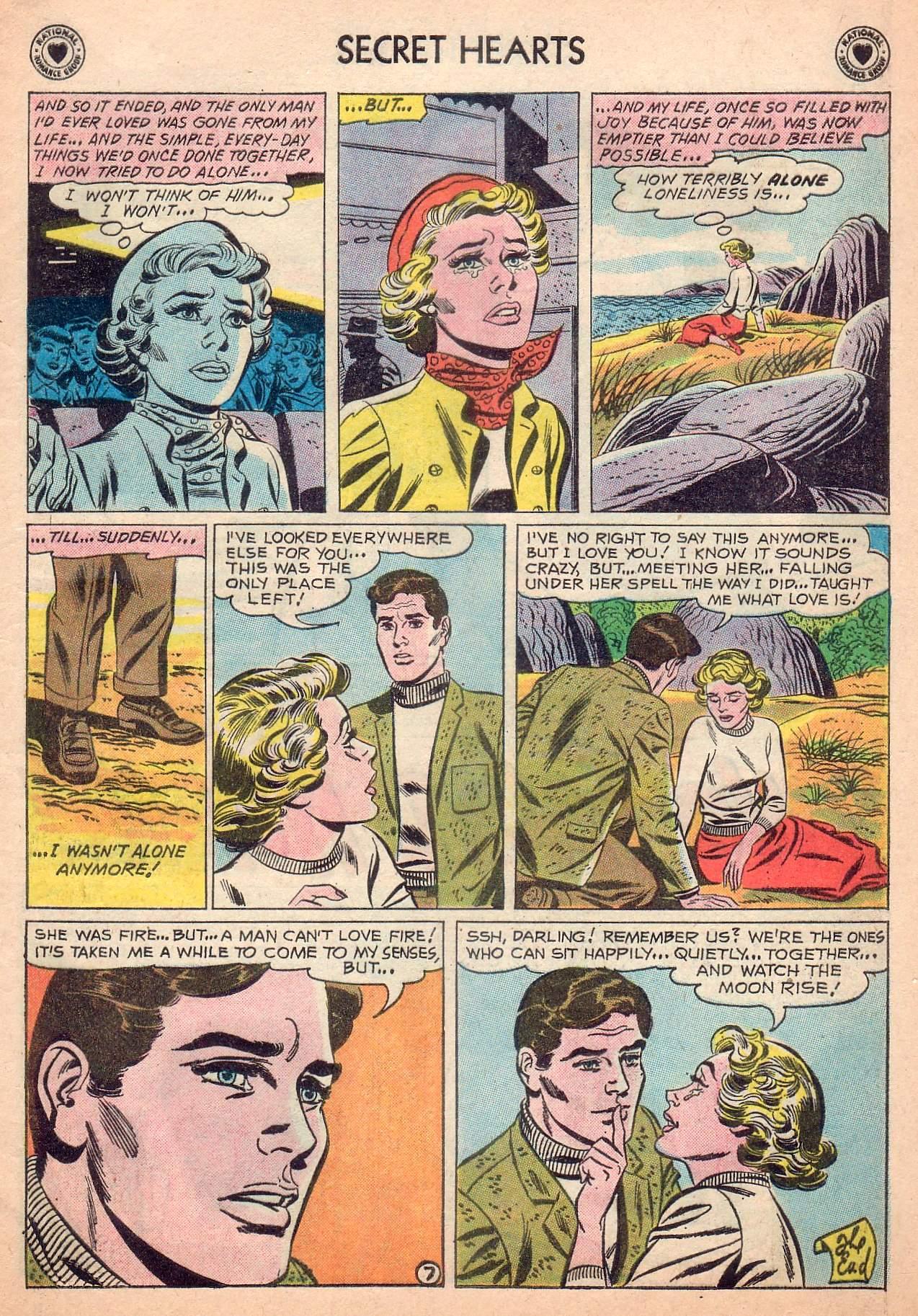 Read online Secret Hearts comic -  Issue #63 - 9