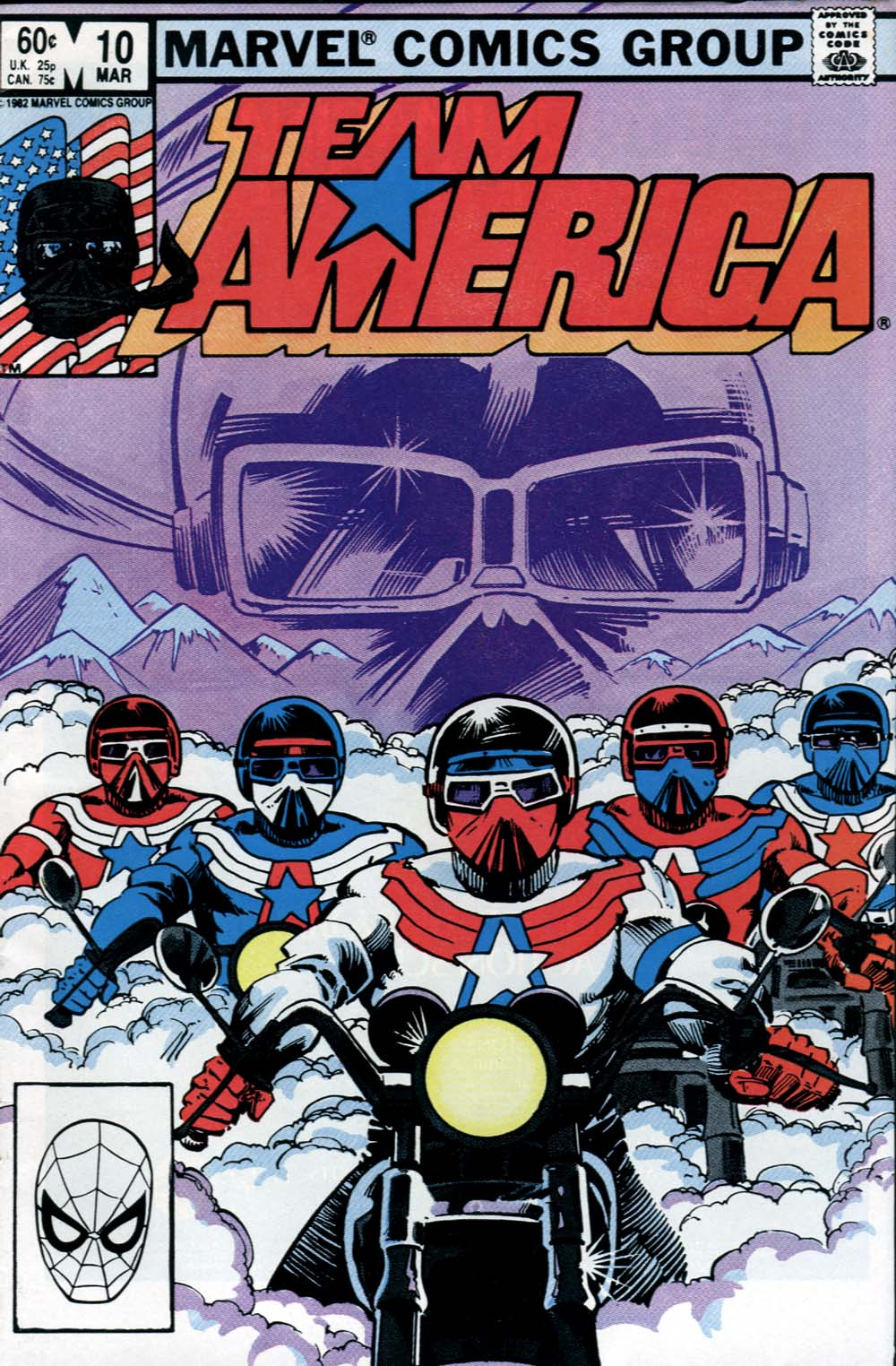 Team America issue 10 - Page 1