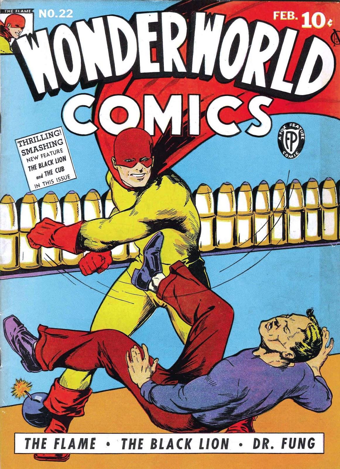Wonderworld Comics issue 22 - Page 1