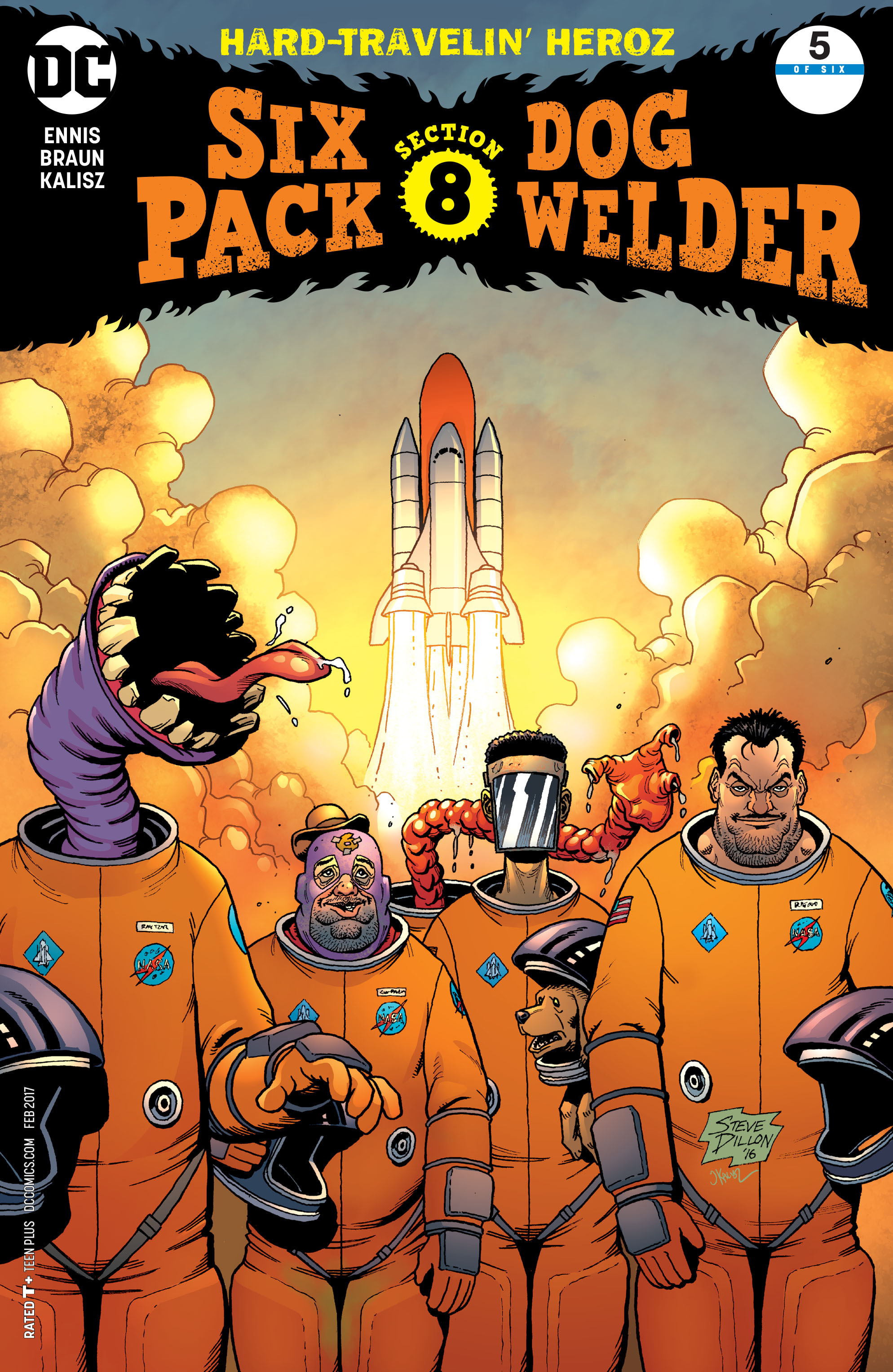 Read online Sixpack and Dogwelder: Hard Travelin' Heroz comic -  Issue #5 - 1