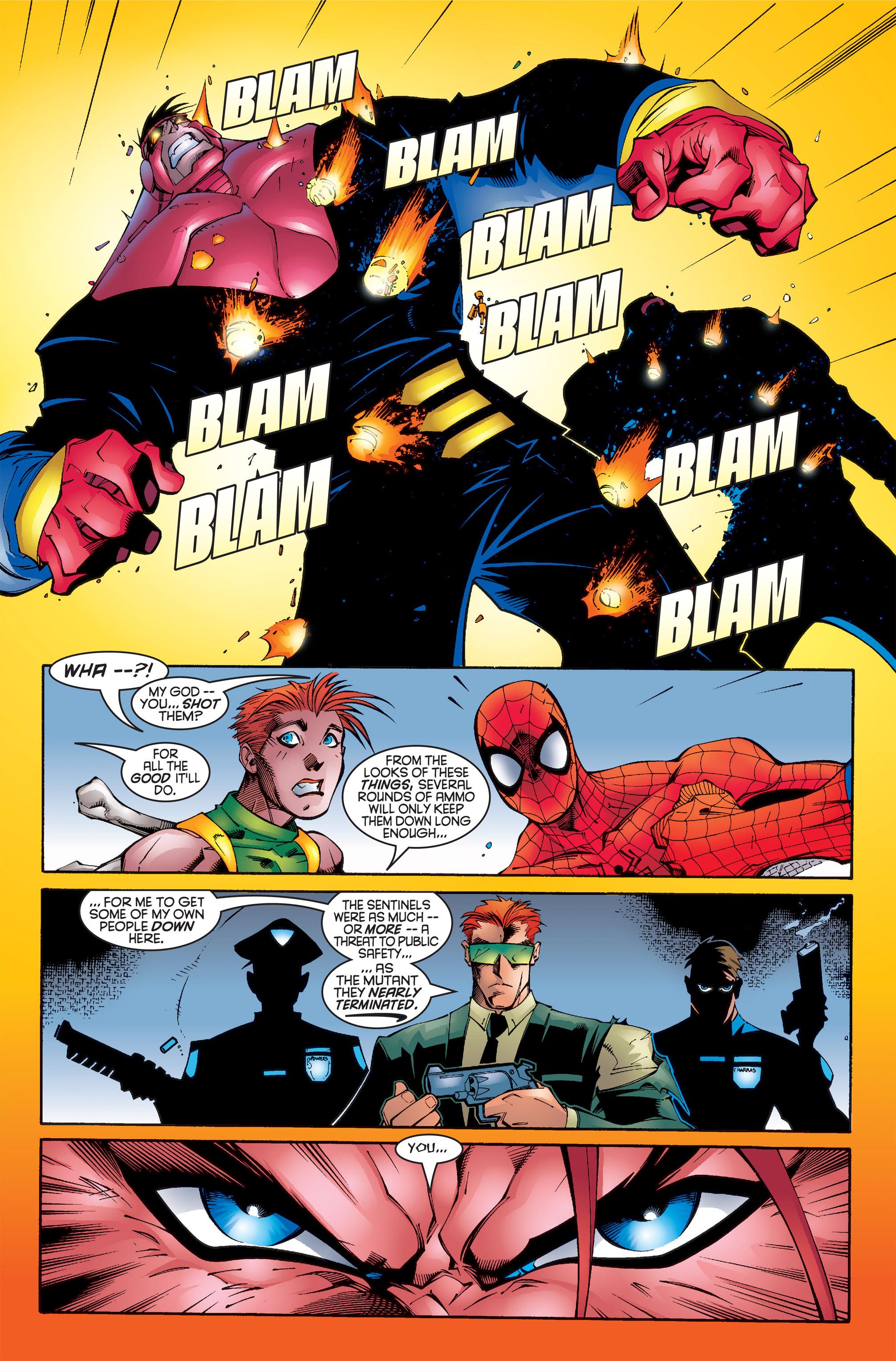 Read online Uncanny X-Men (1963) comic -  Issue #346 - 18
