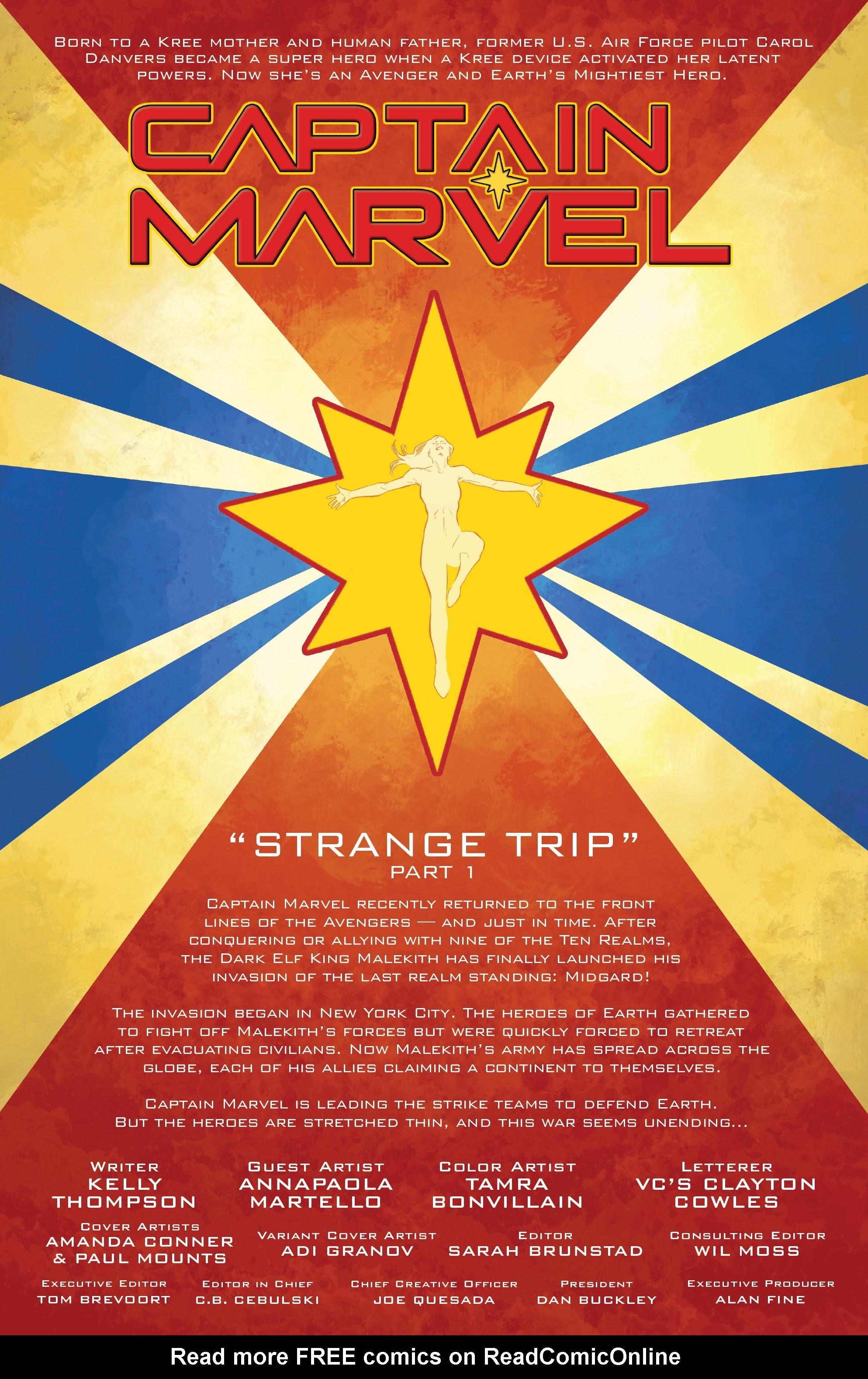Read online Captain Marvel (2019) comic -  Issue #6 - 2