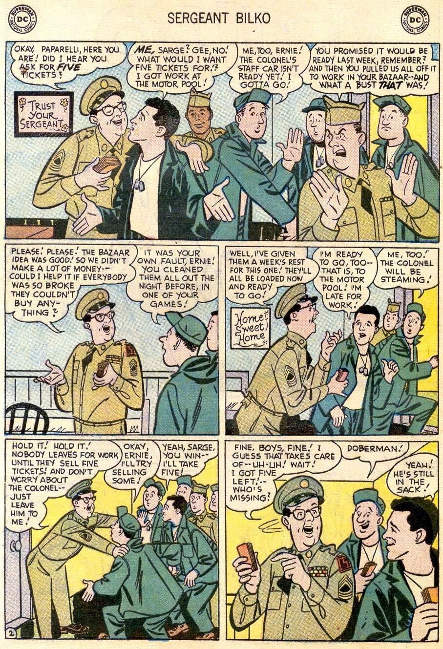 Sergeant Bilko issue 2 - Page 4