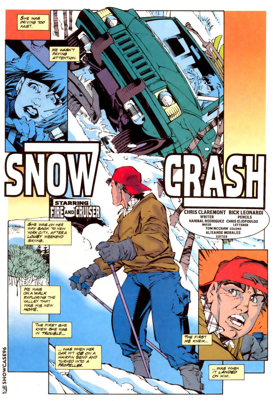 Read online Showcase '96 comic -  Issue #7 - 30