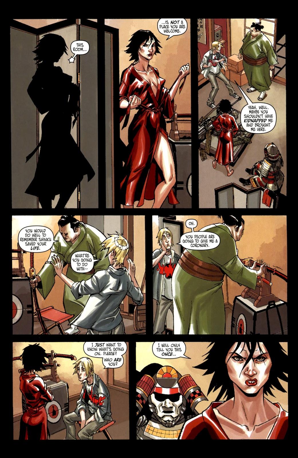 Read online Shinku comic -  Issue #1 - 16