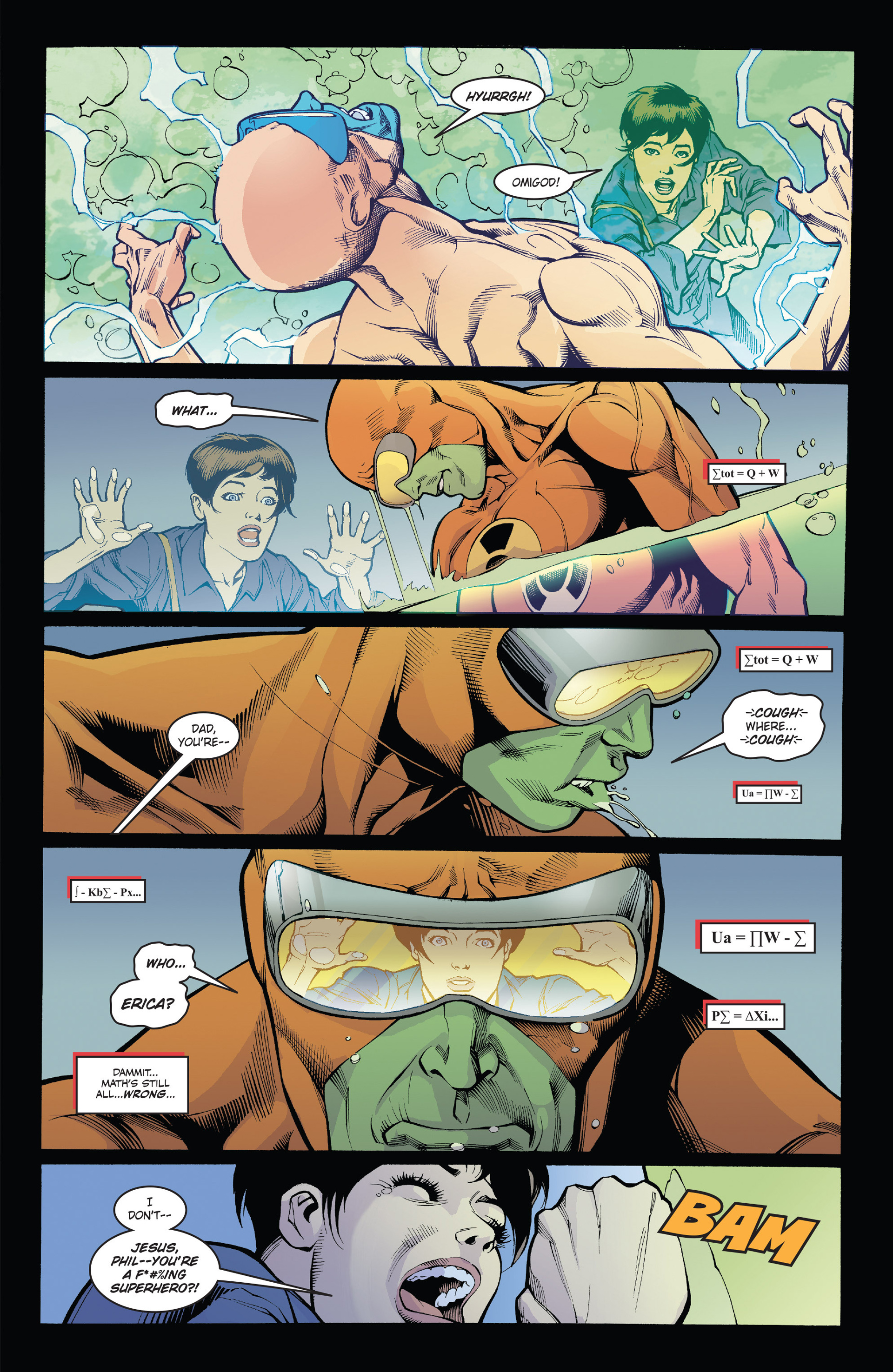 Read online Solar: Man of the Atom (2014) comic -  Issue #1 - 21