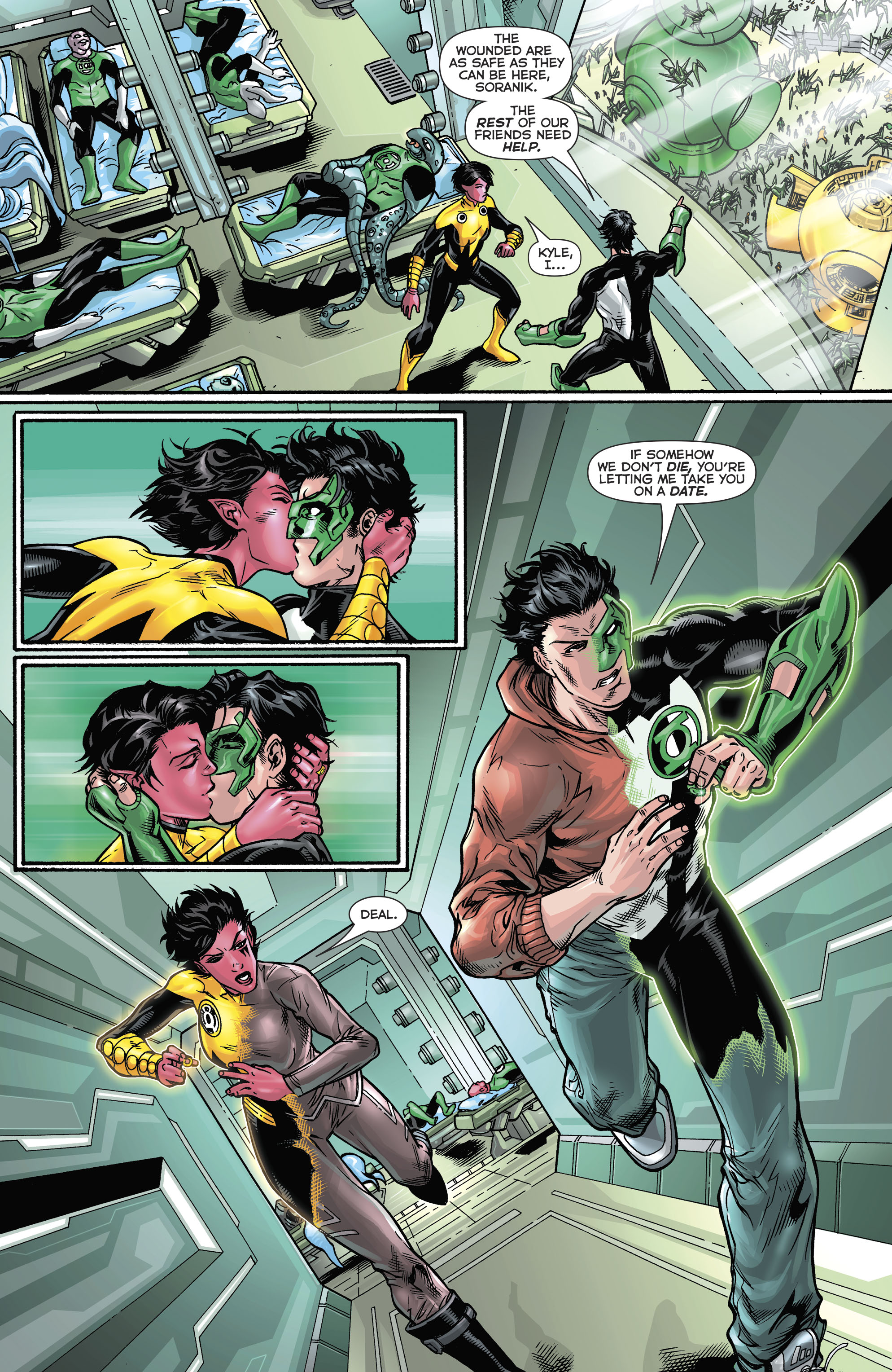 Read online Hal Jordan And The Green Lantern Corps comic -  Issue #21 - 8
