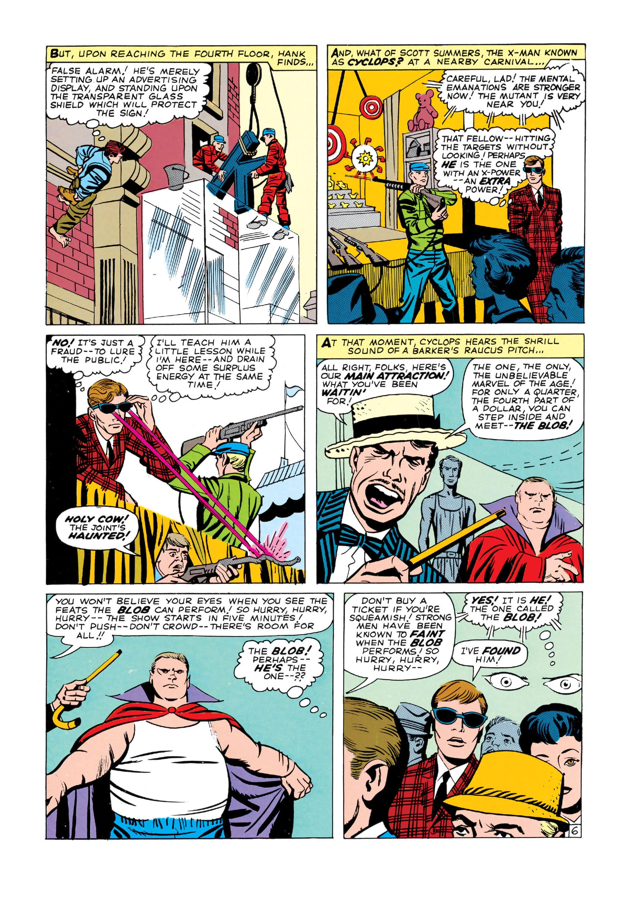 Read online Uncanny X-Men (1963) comic -  Issue #3 - 7