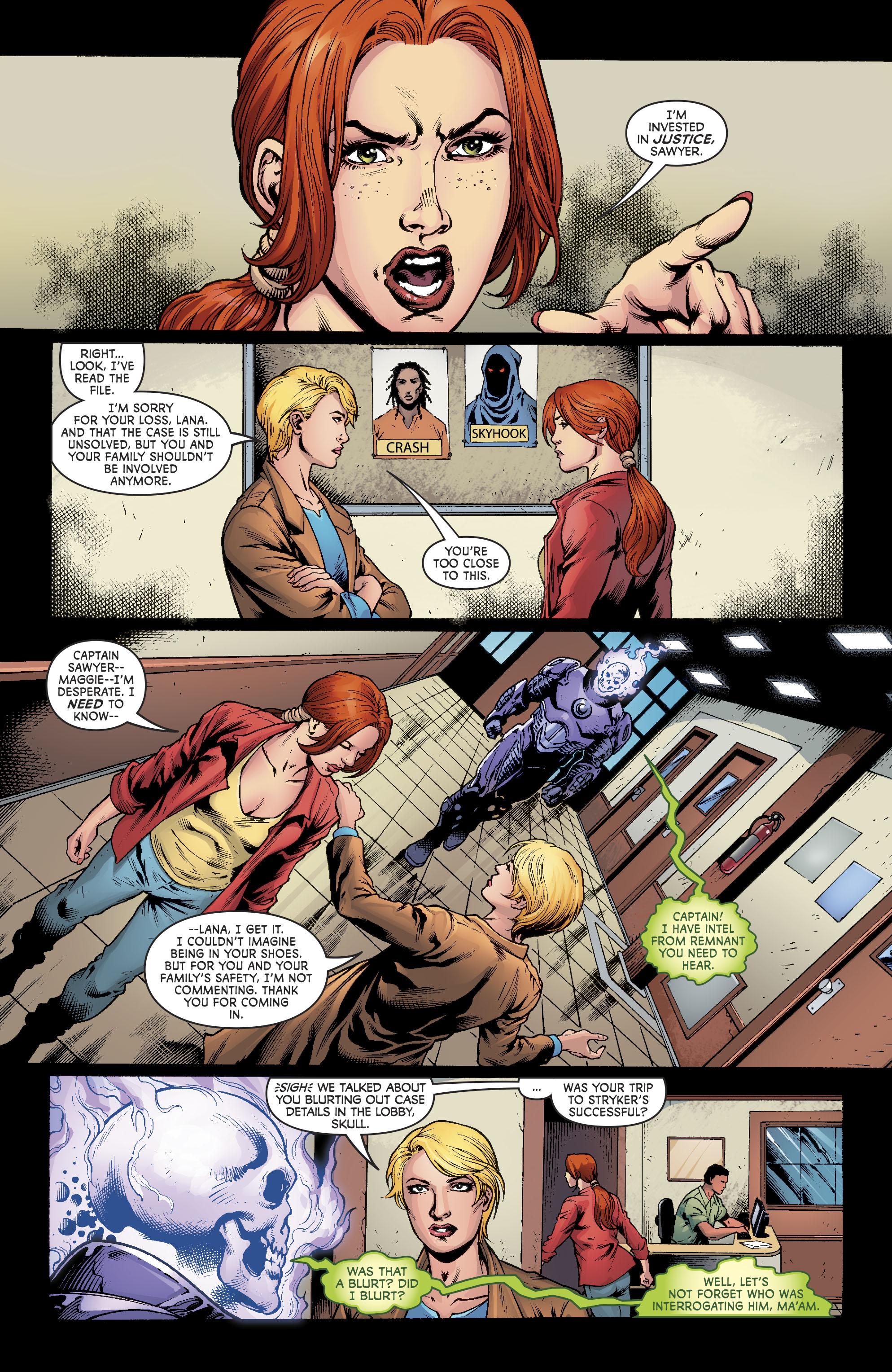 Read online Superwoman comic -  Issue #11 - 12