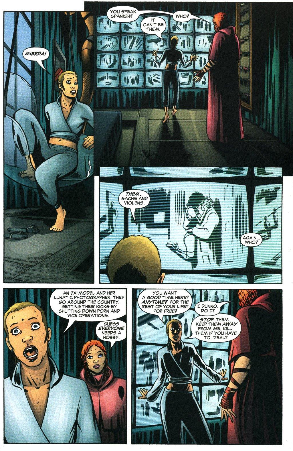 Read online Fallen Angel (2003) comic -  Issue #19 - 22