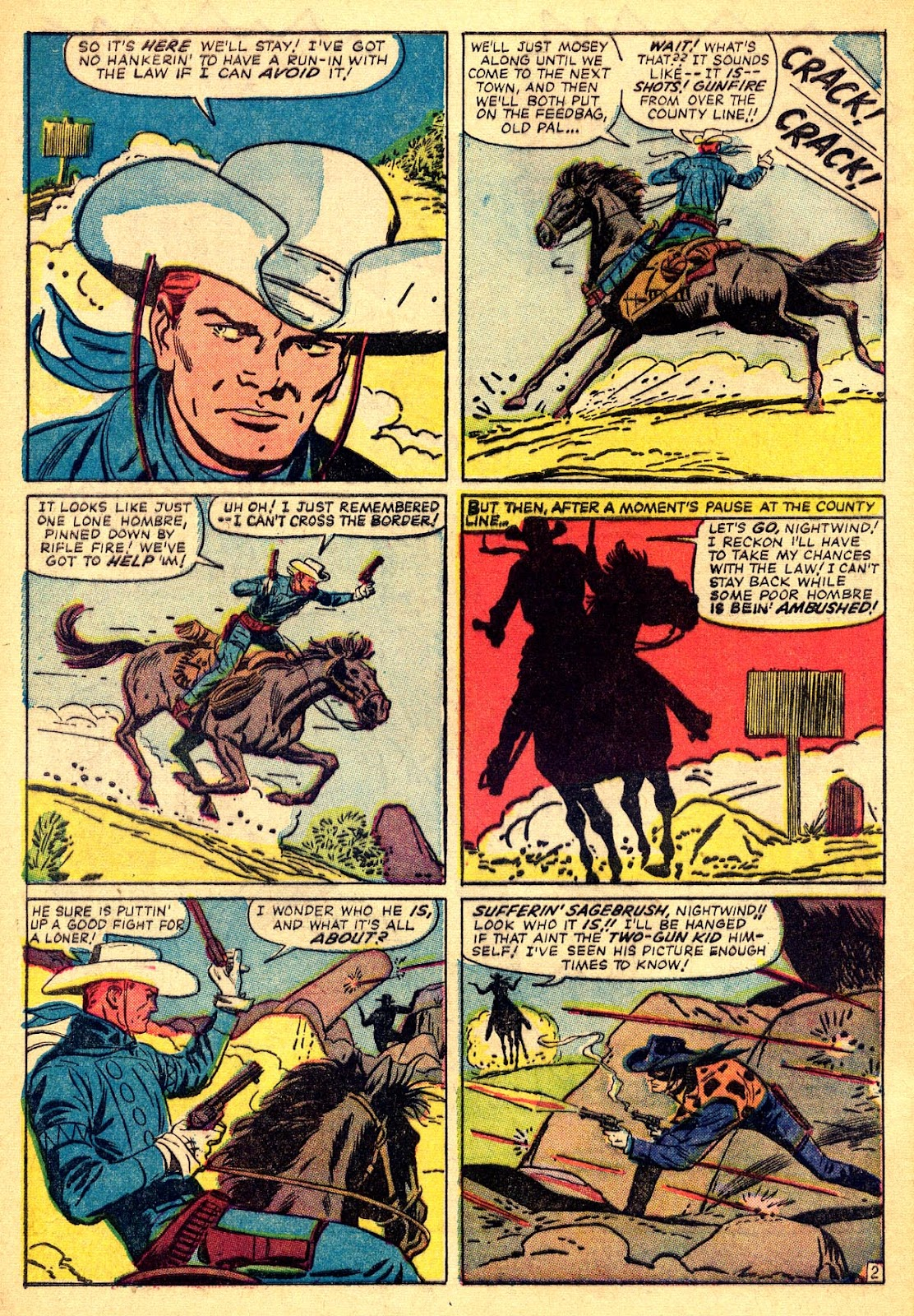 The Rawhide Kid (1955) issue 40 - Page 4