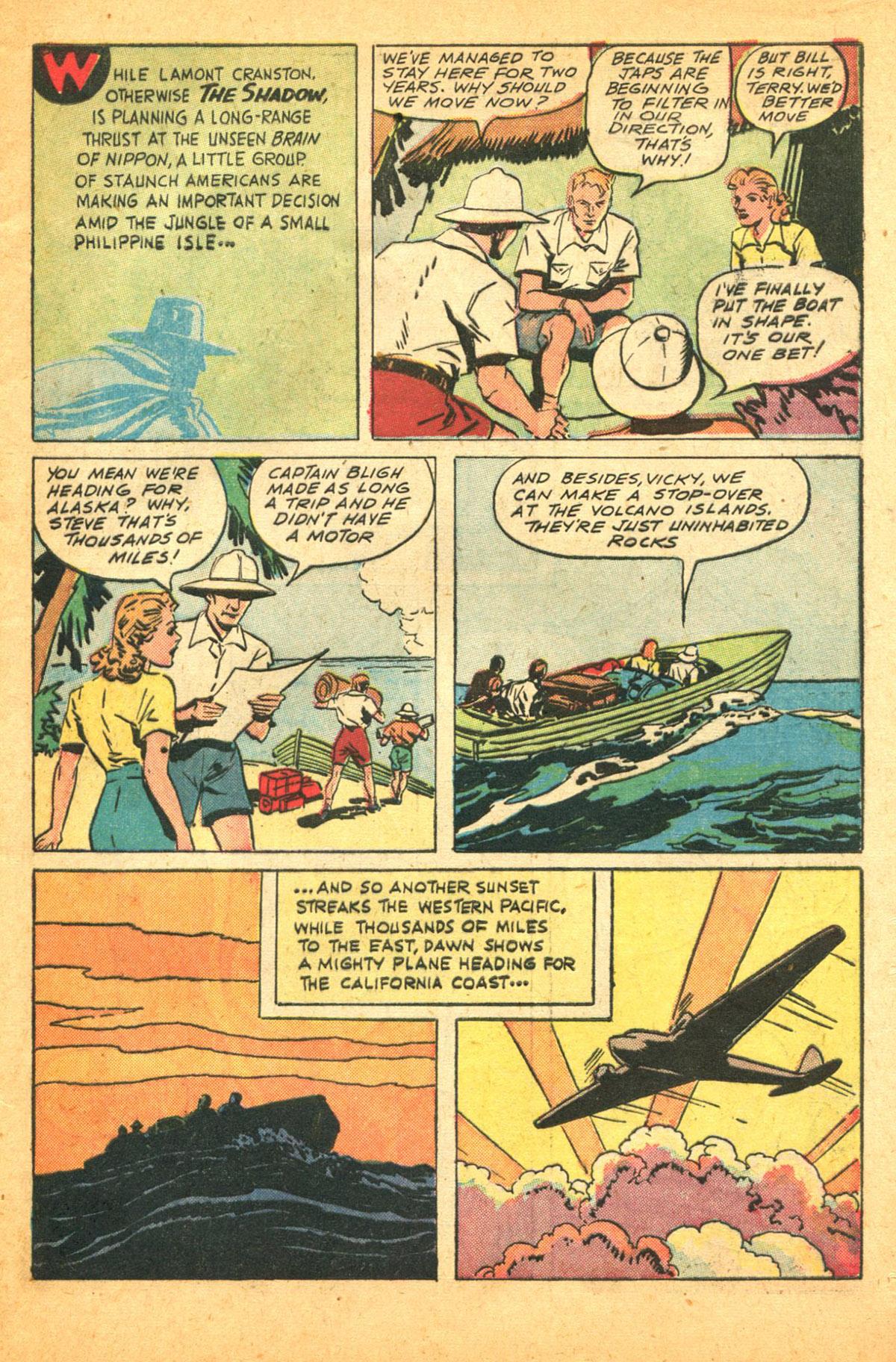 Read online Shadow Comics comic -  Issue #38 - 9