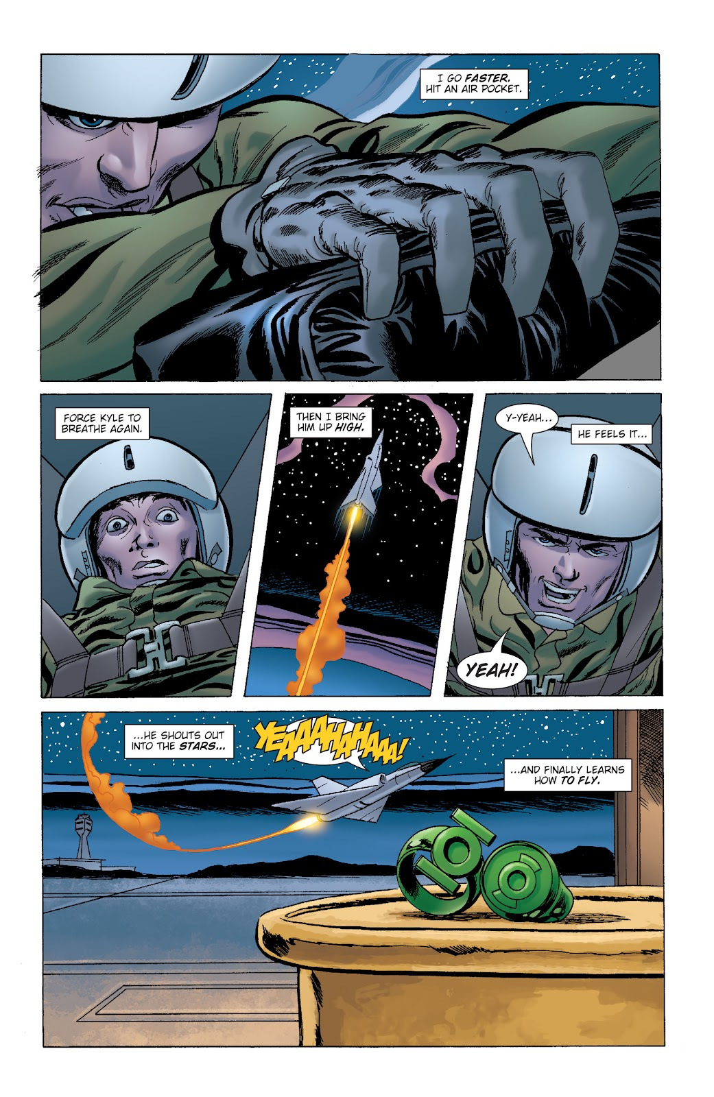 Read online Green Lantern by Geoff Johns comic -  Issue # TPB 1 (Part 2) - 76