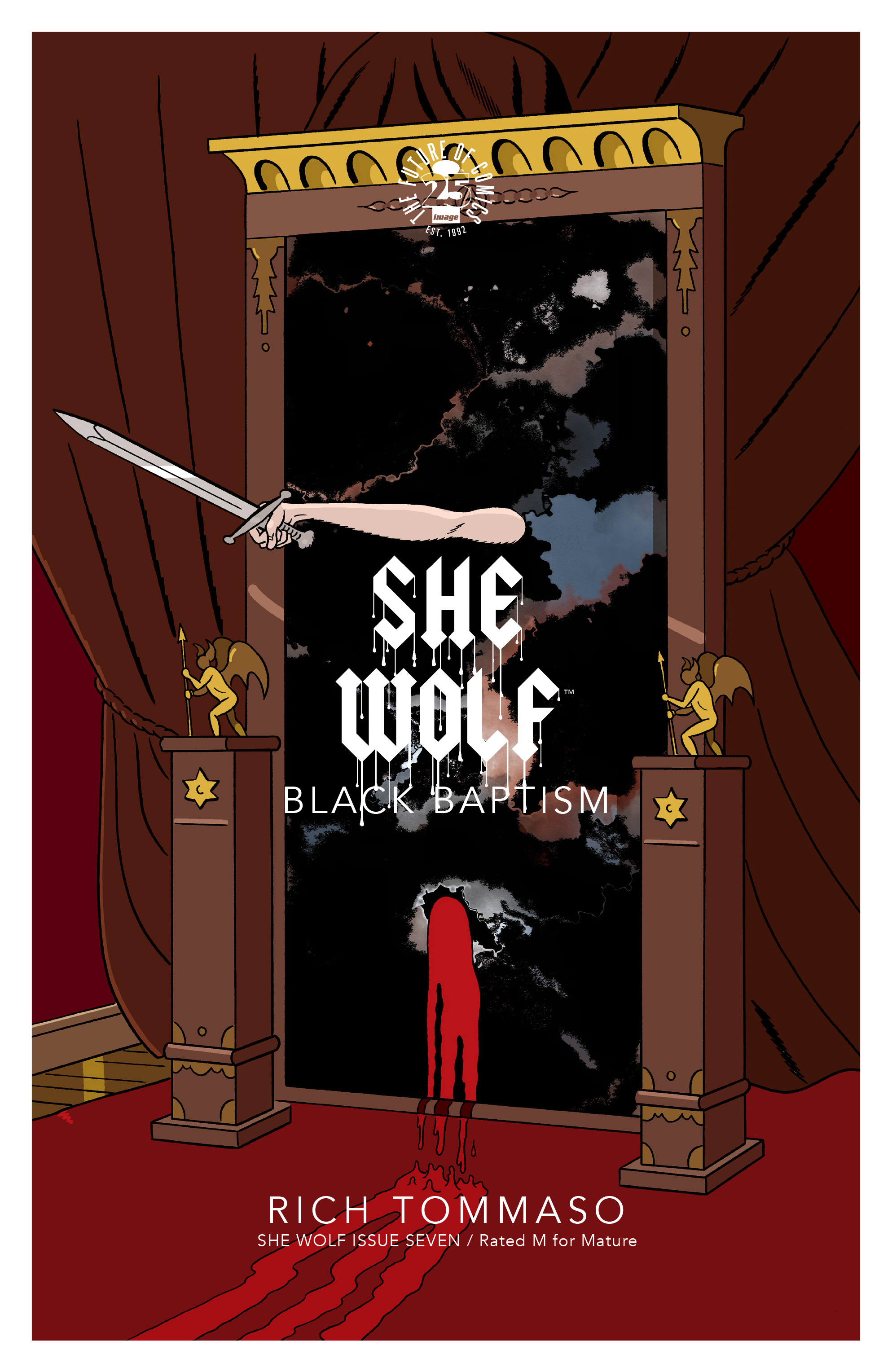 Read online She Wolf comic -  Issue #7 - 1