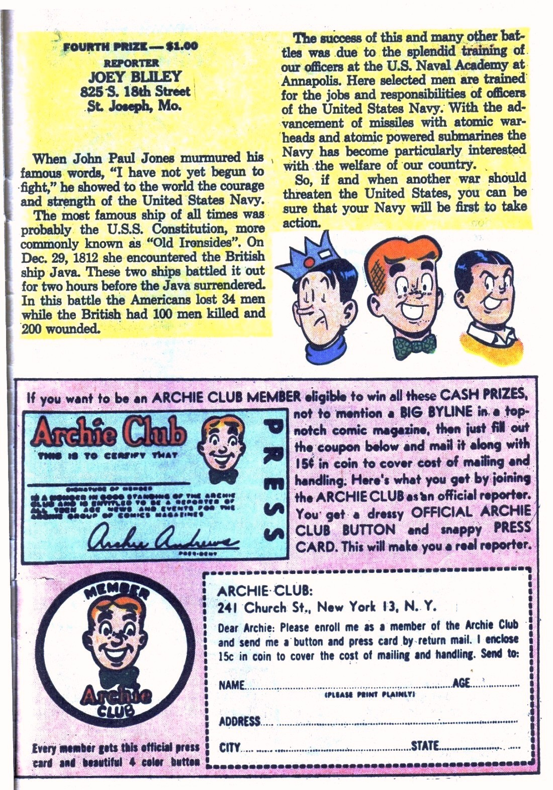 Read online Archie (1960) comic -  Issue #124 - 27