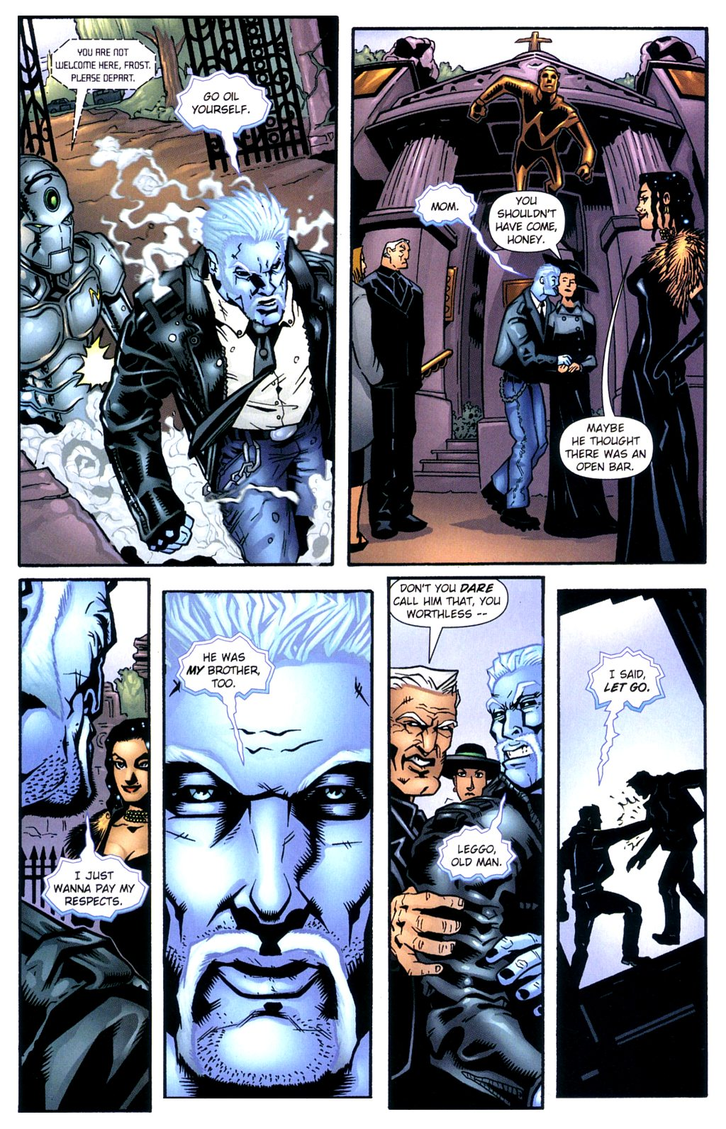 Read online Noble Causes (2002) comic -  Issue #2 - 10