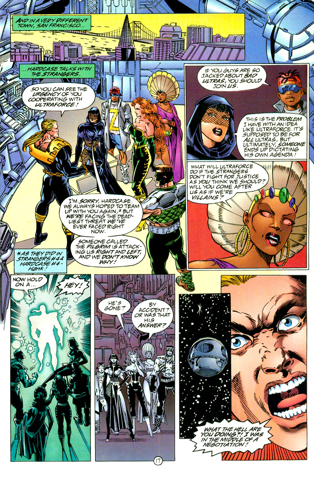 Read online UltraForce (1994) comic -  Issue #2 - 18