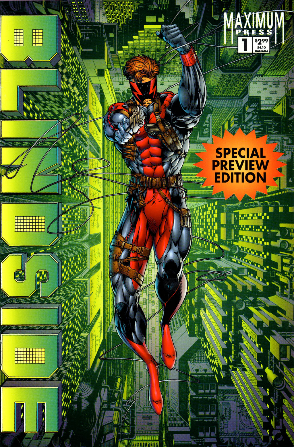 Read online Avengelyne (1996) comic -  Issue #5 - 27