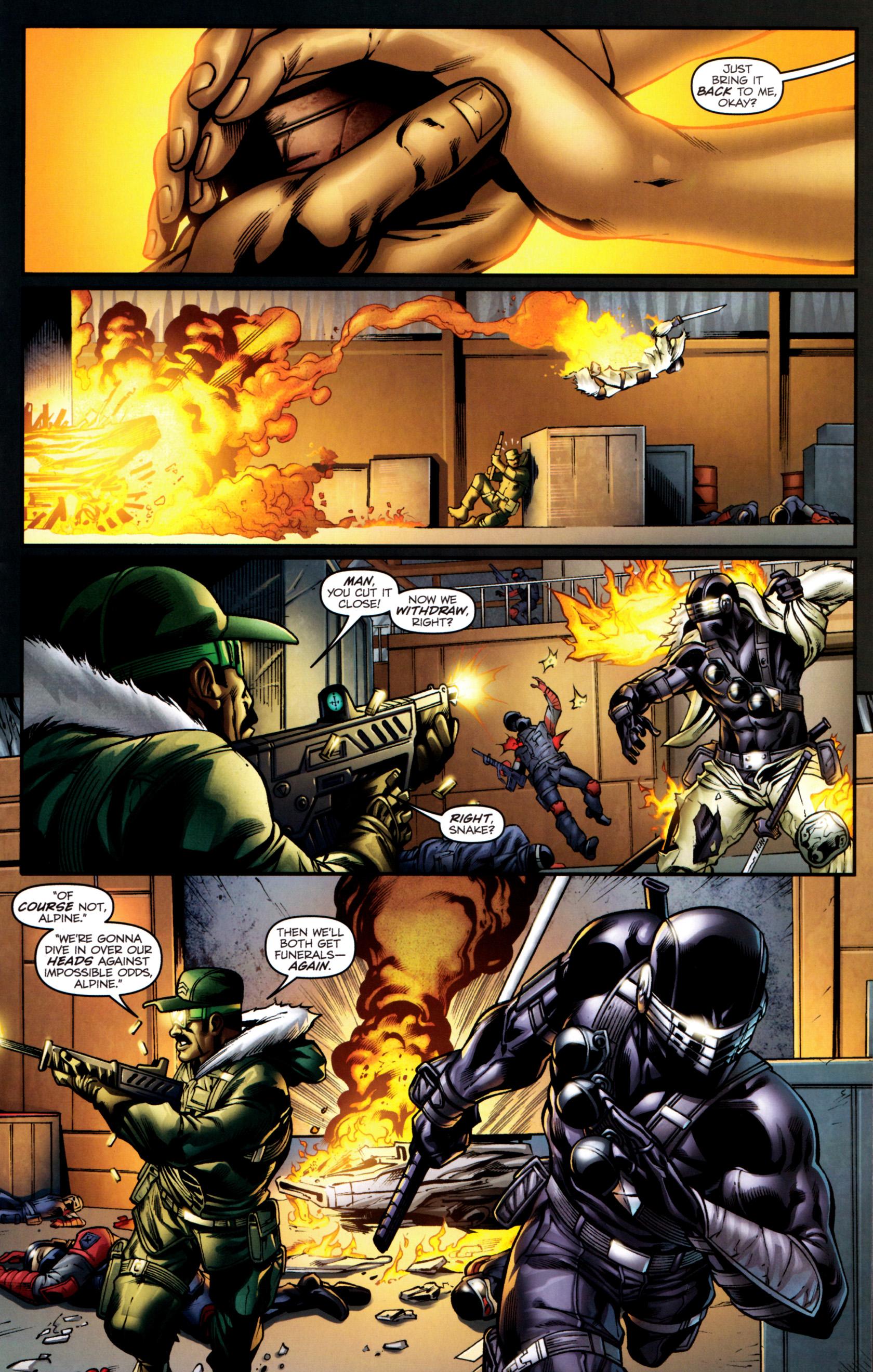 Read online G.I. Joe: Snake Eyes comic -  Issue #2 - 10