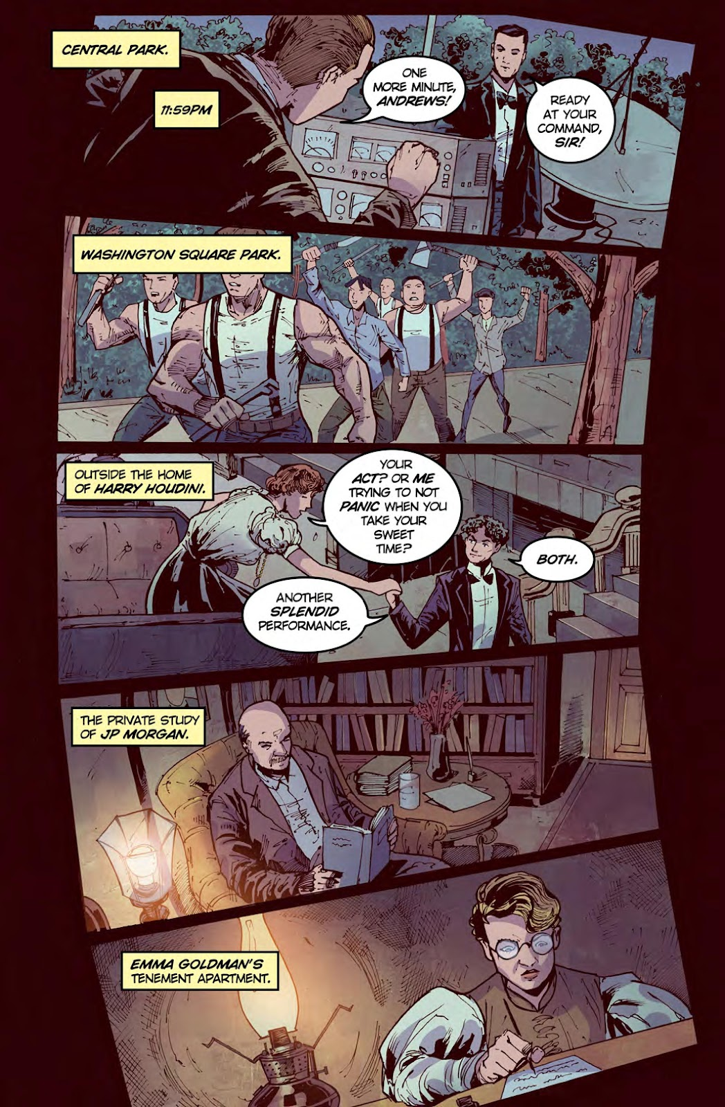 Read online American Dreams comic -  Issue #1 - 13