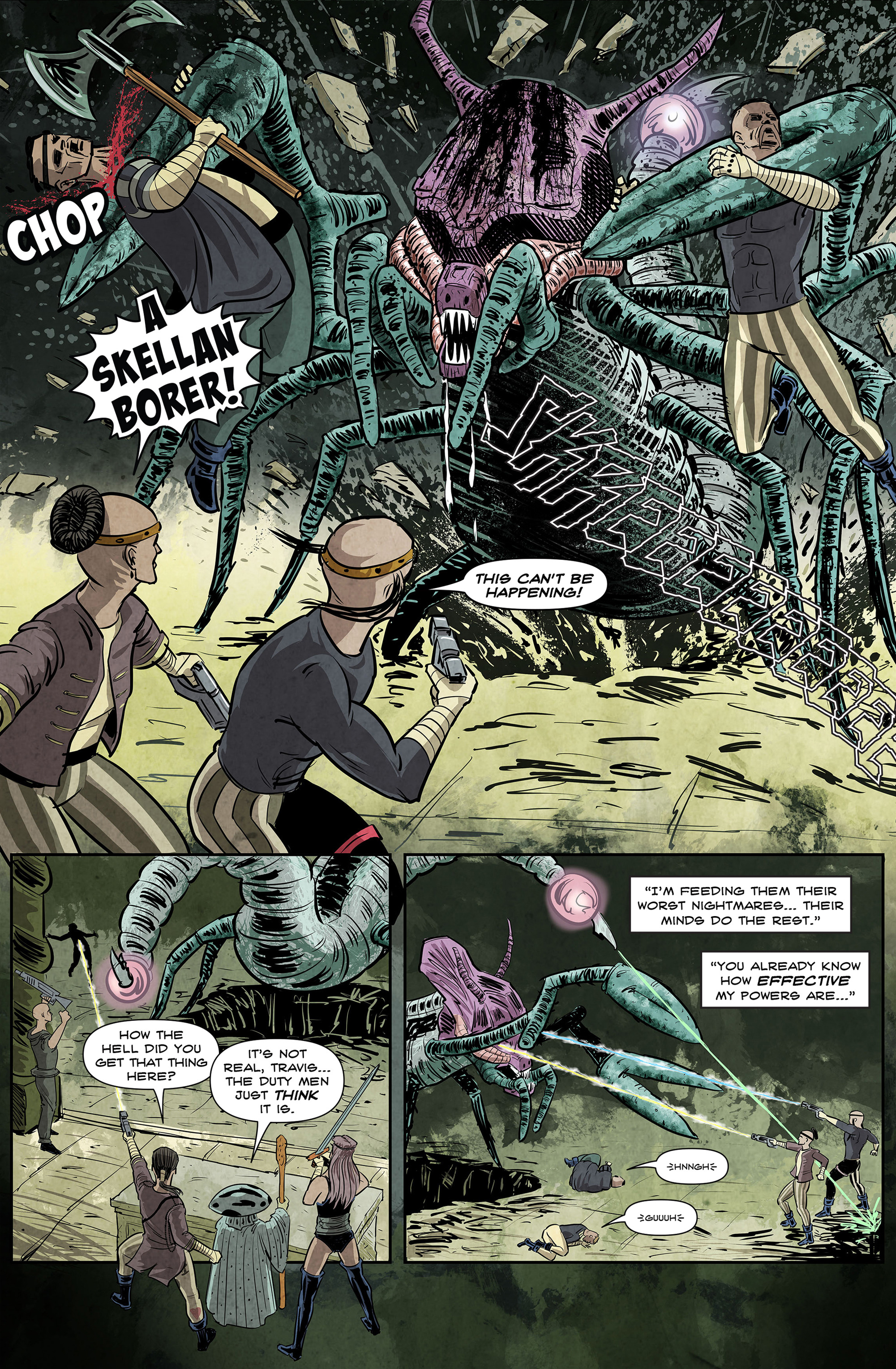 Read online 100% Biodegradable comic -  Issue #12 - 18