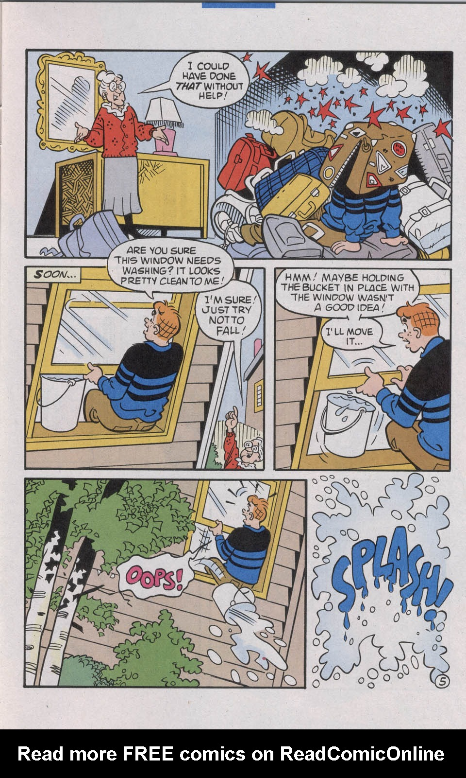 Read online Archie (1960) comic -  Issue #535 - 7