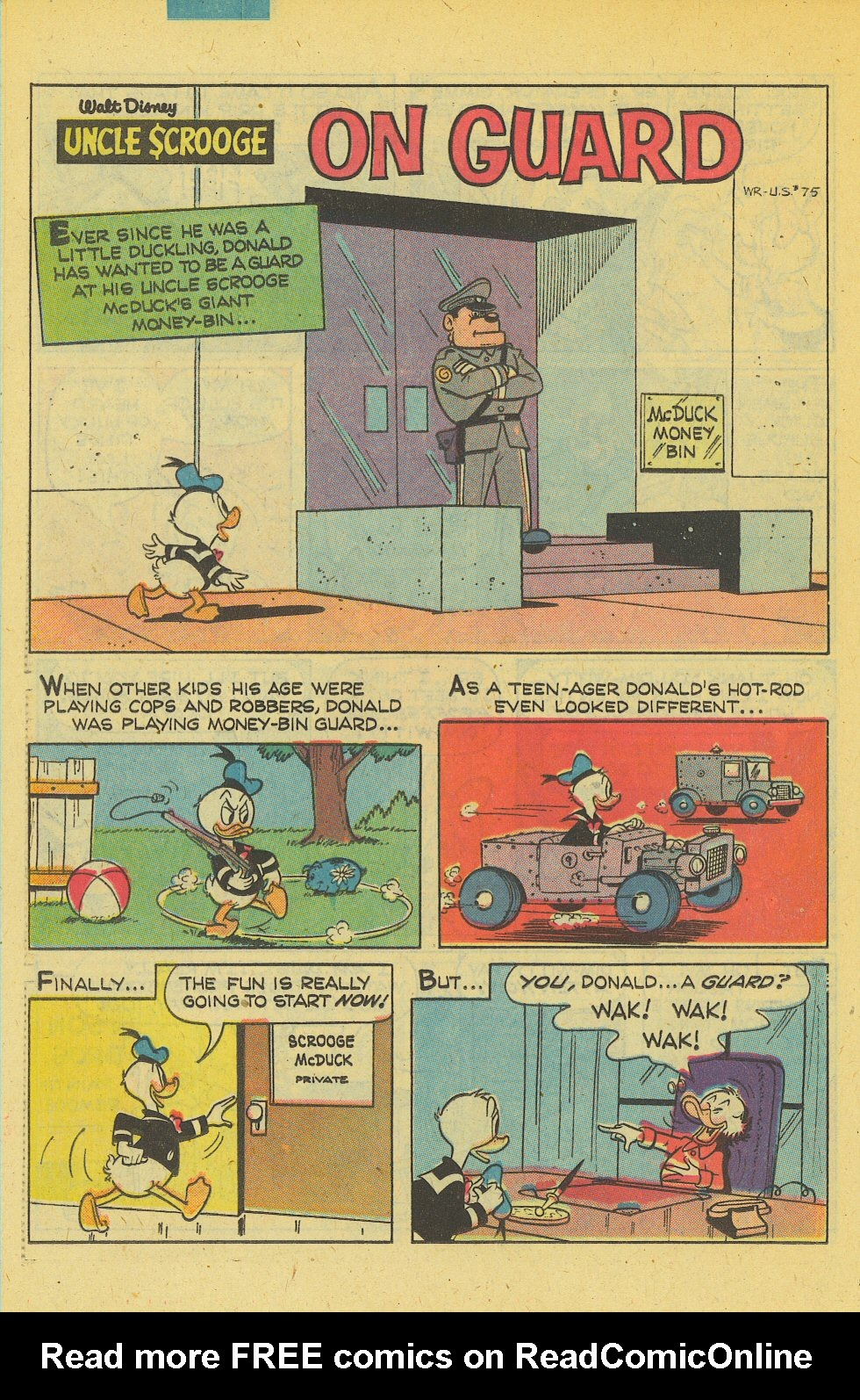 Read online Uncle Scrooge (1953) comic -  Issue #169 - 26