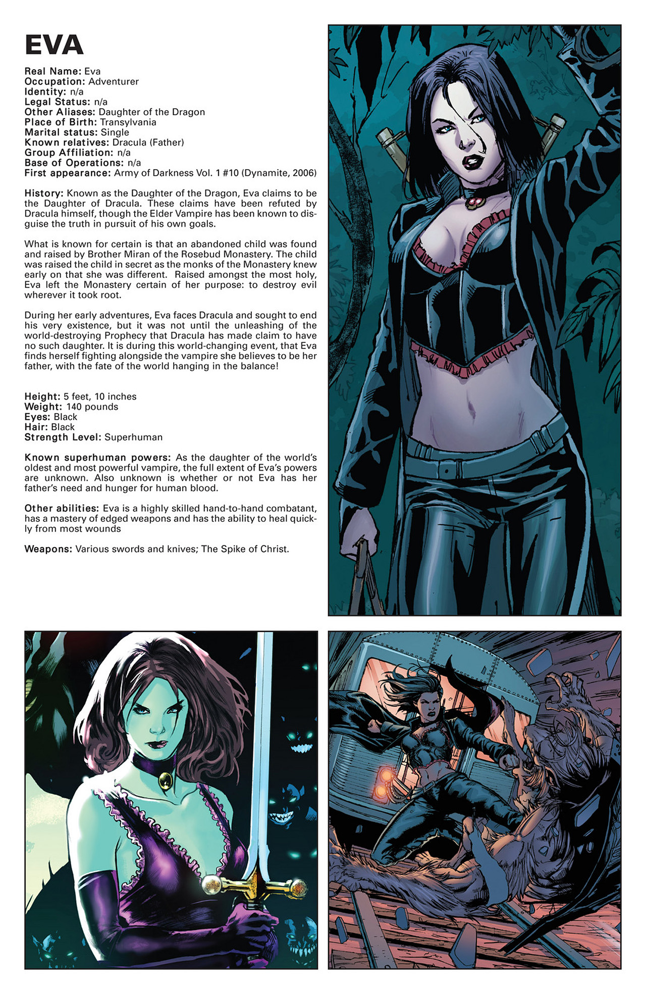 Read online Prophecy comic -  Issue #3 - 20