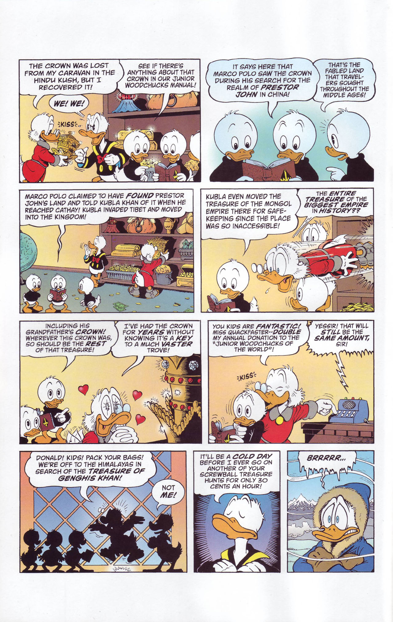 Read online Uncle Scrooge (1953) comic -  Issue #357 - 4