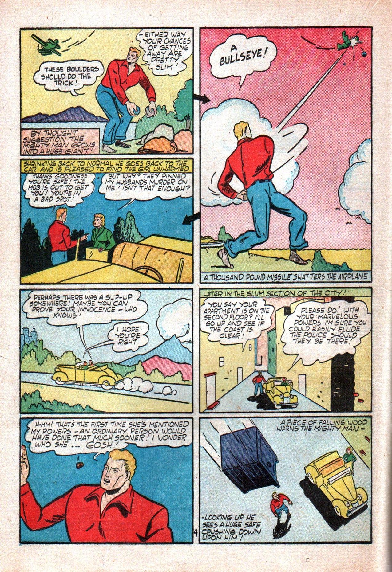 Read online Amazing Man Comics comic -  Issue #20 - 33
