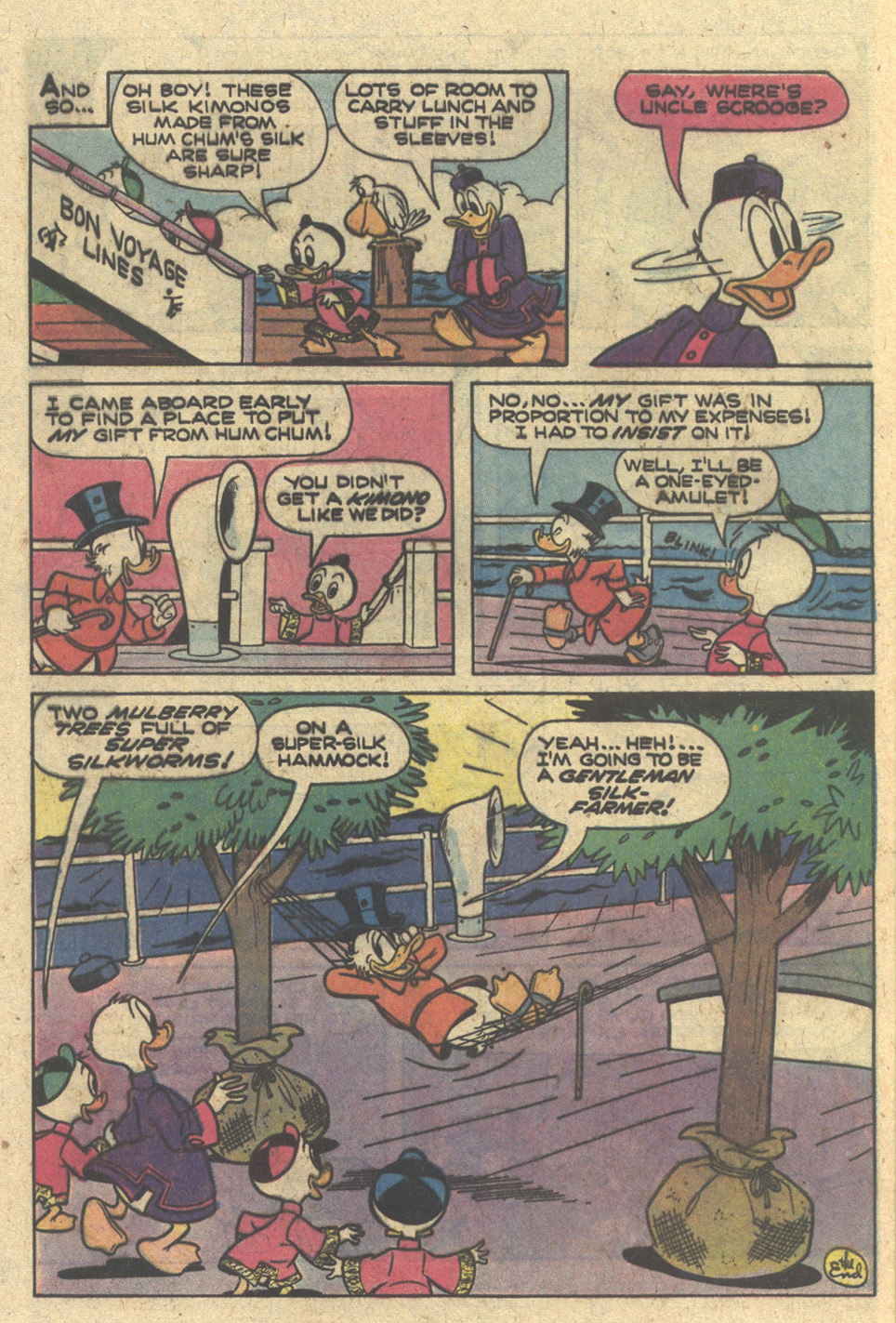 Read online Uncle Scrooge (1953) comic -  Issue #166 - 28