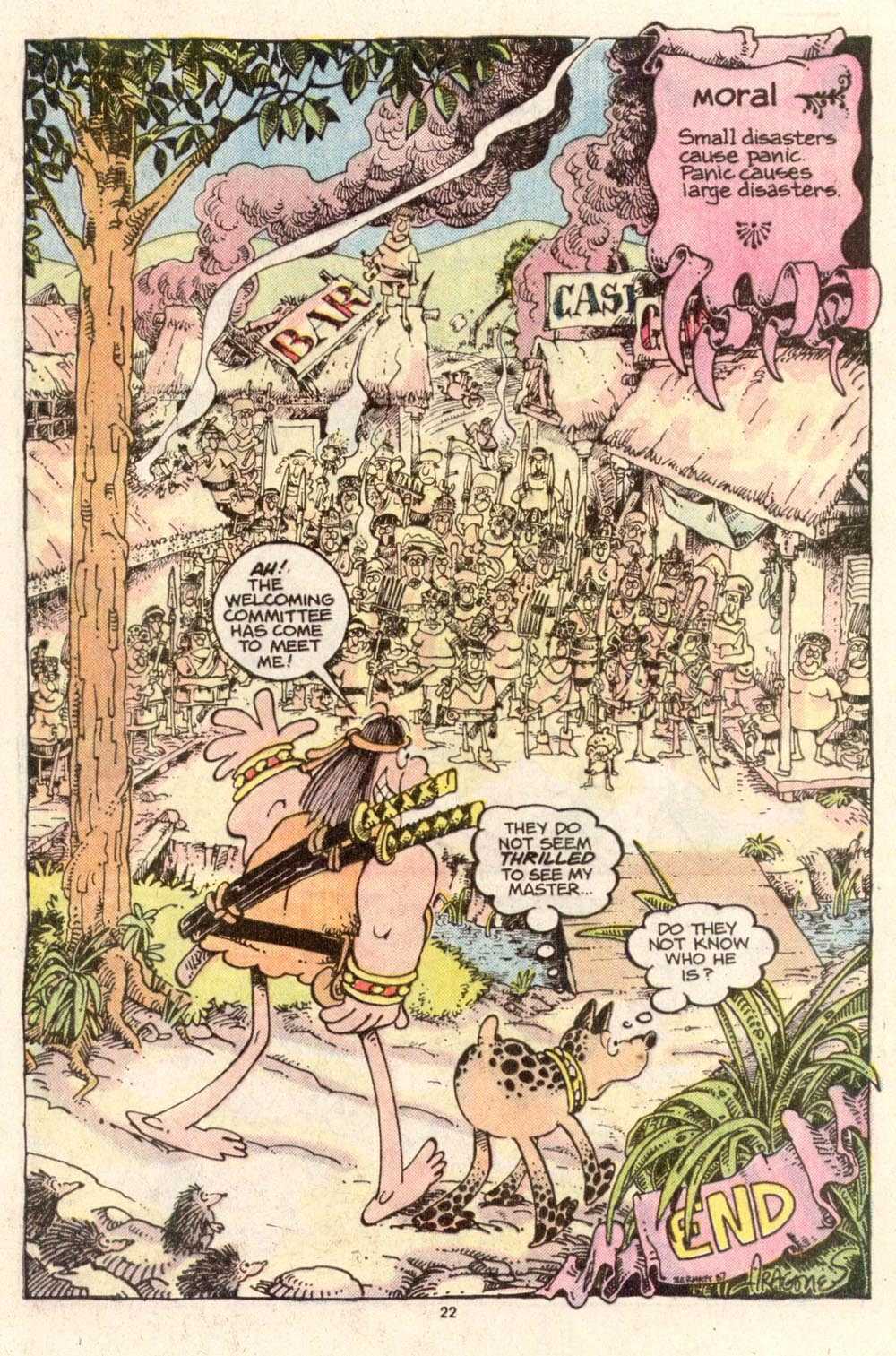 Read online Sergio Aragonés Groo the Wanderer comic -  Issue #37 - 24