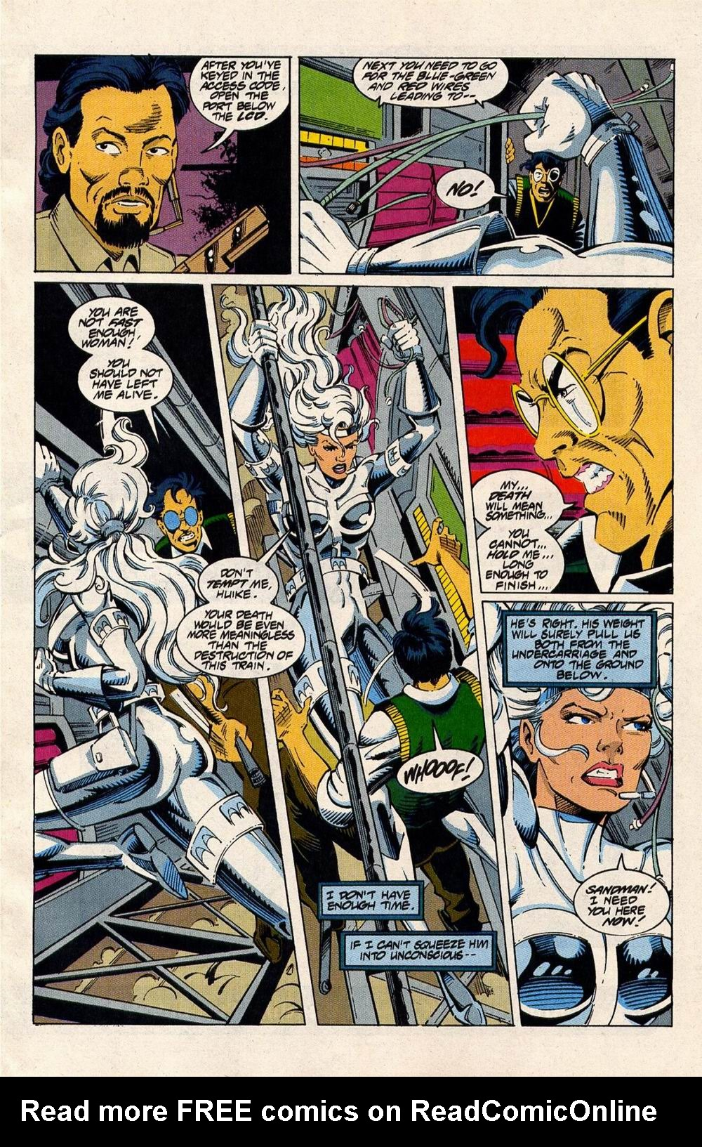 Read online Silver Sable and the Wild Pack comic -  Issue #33 - 7