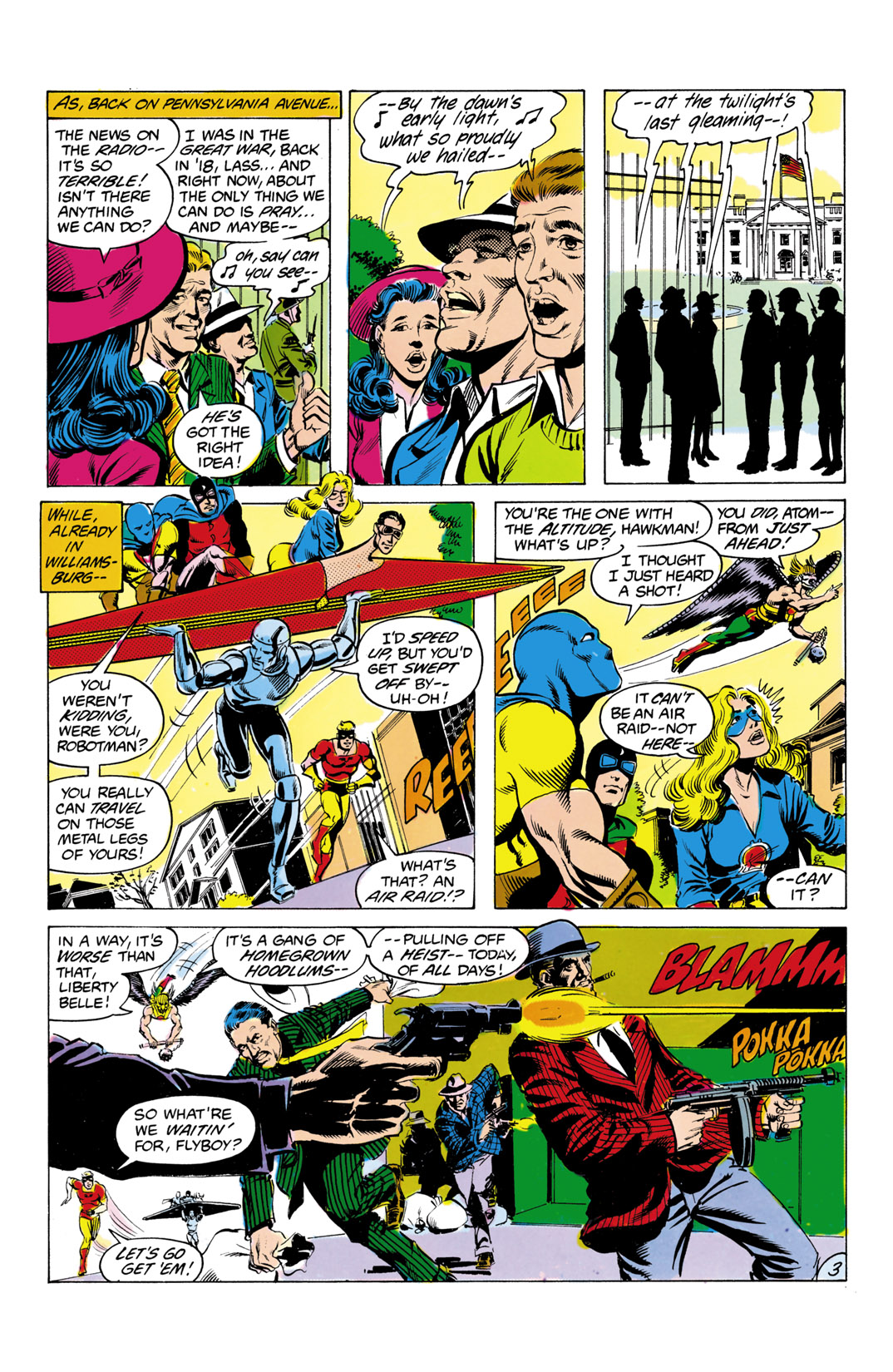 Read online All-Star Squadron comic -  Issue #2 - 4