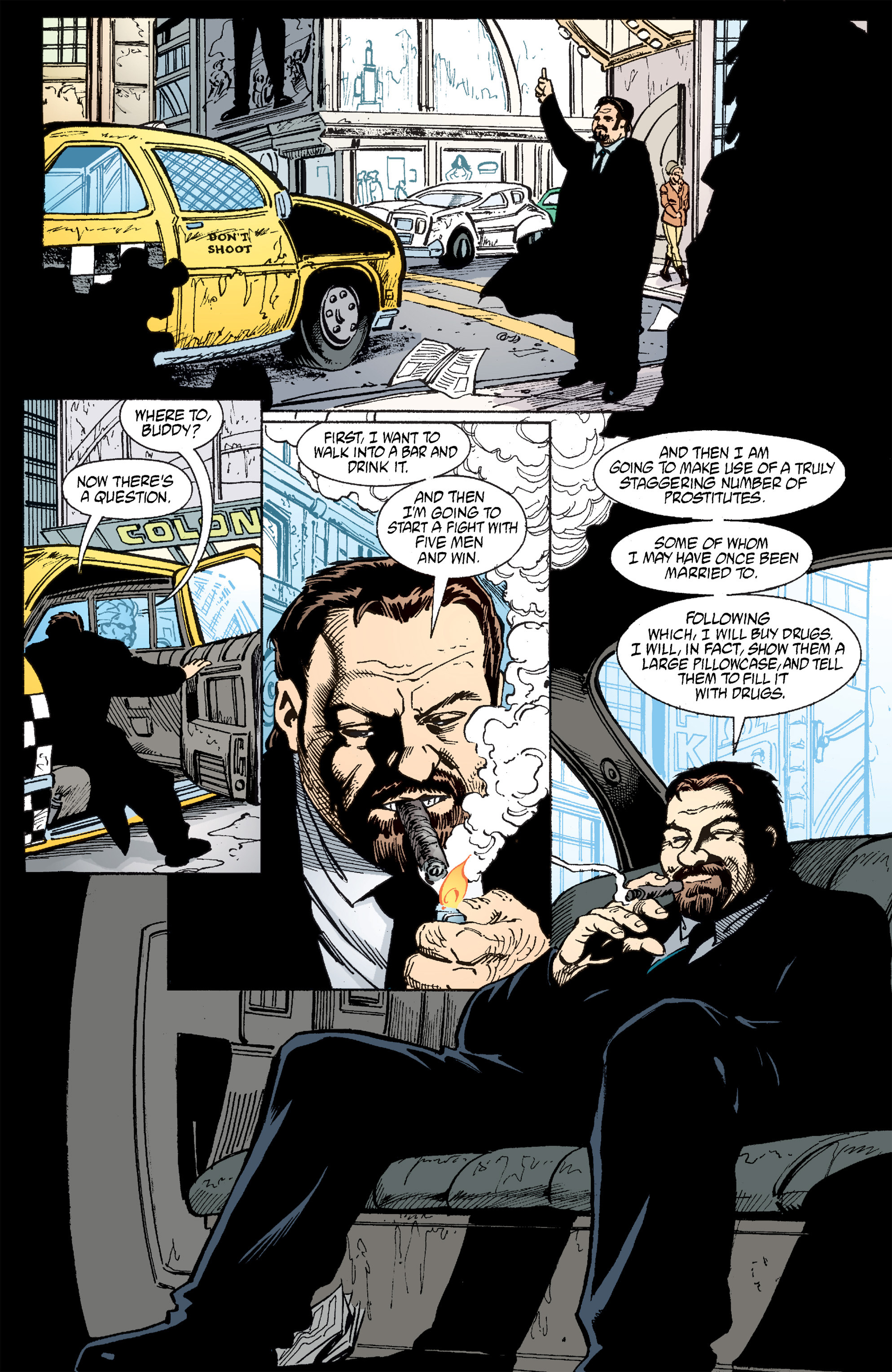 Read online Transmetropolitan comic -  Issue #51 - 22