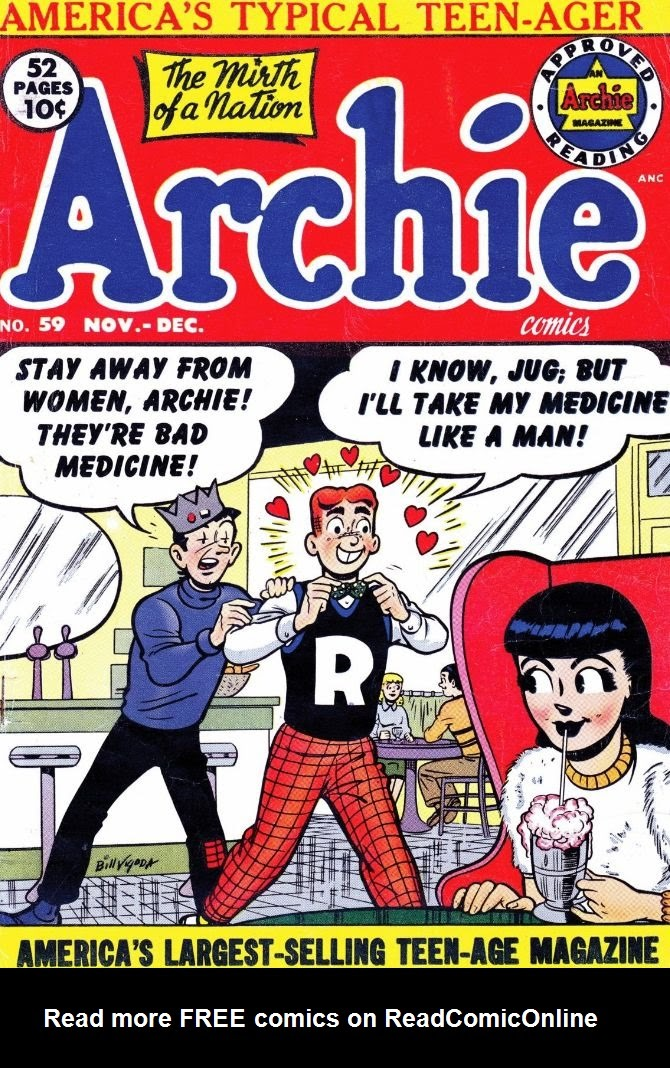 Archie Comics issue 059 - Page 1