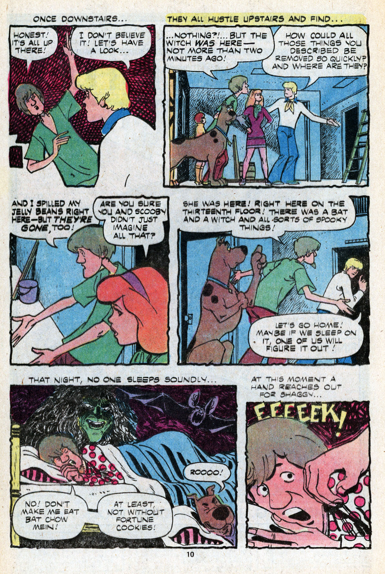 Read online Scooby-Doo (1977) comic -  Issue #5 - 12