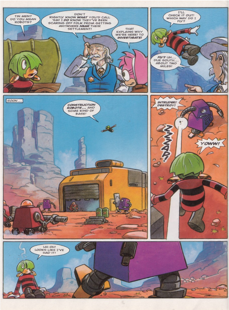 Read online Sonic the Comic comic -  Issue #140 - 12