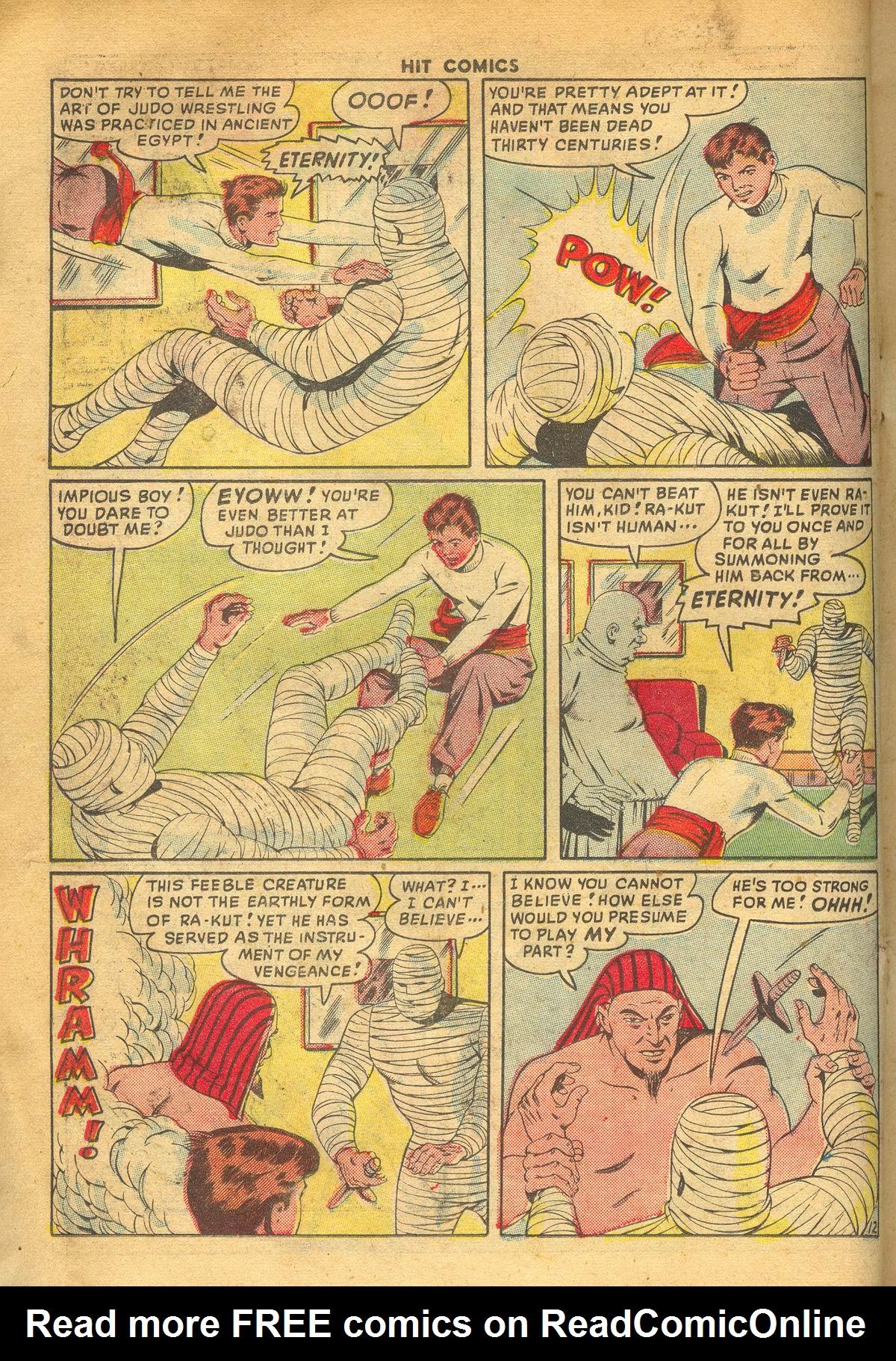 Read online Hit Comics comic -  Issue #60 - 14