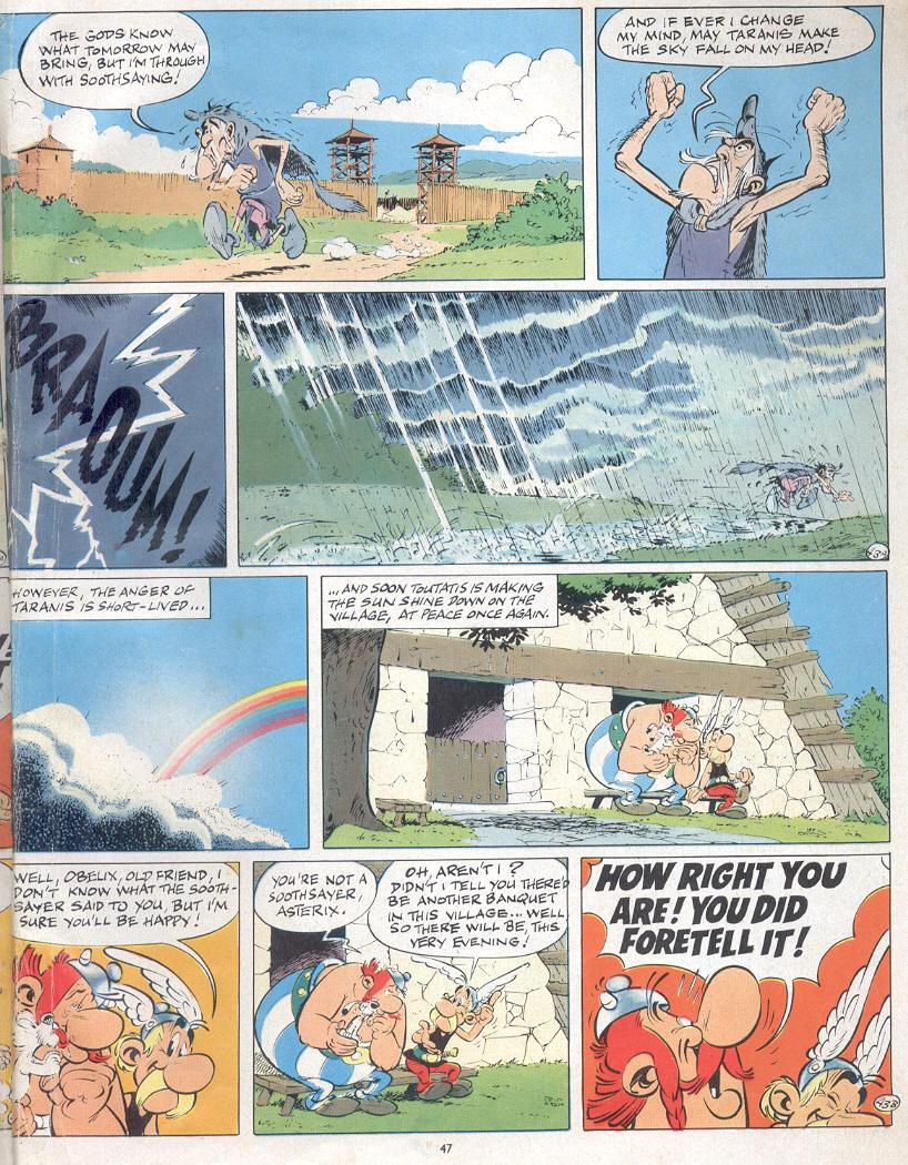 Read online Asterix comic -  Issue #19 - 44