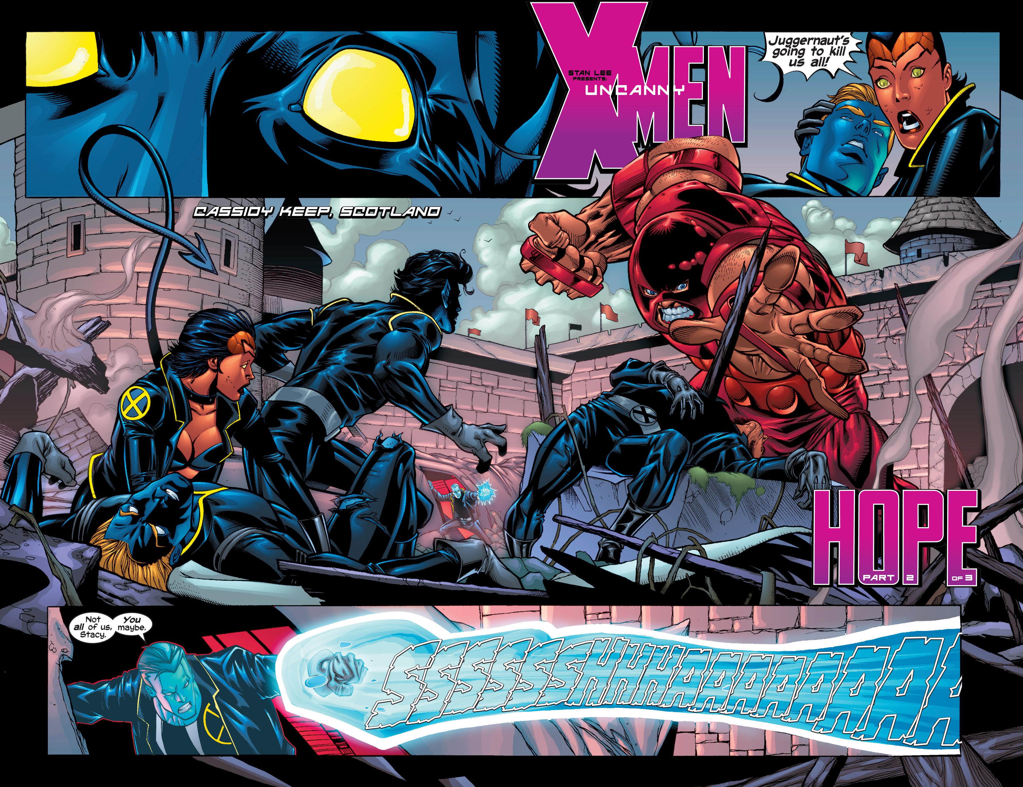 Read online Uncanny X-Men (1963) comic -  Issue #411 - 3