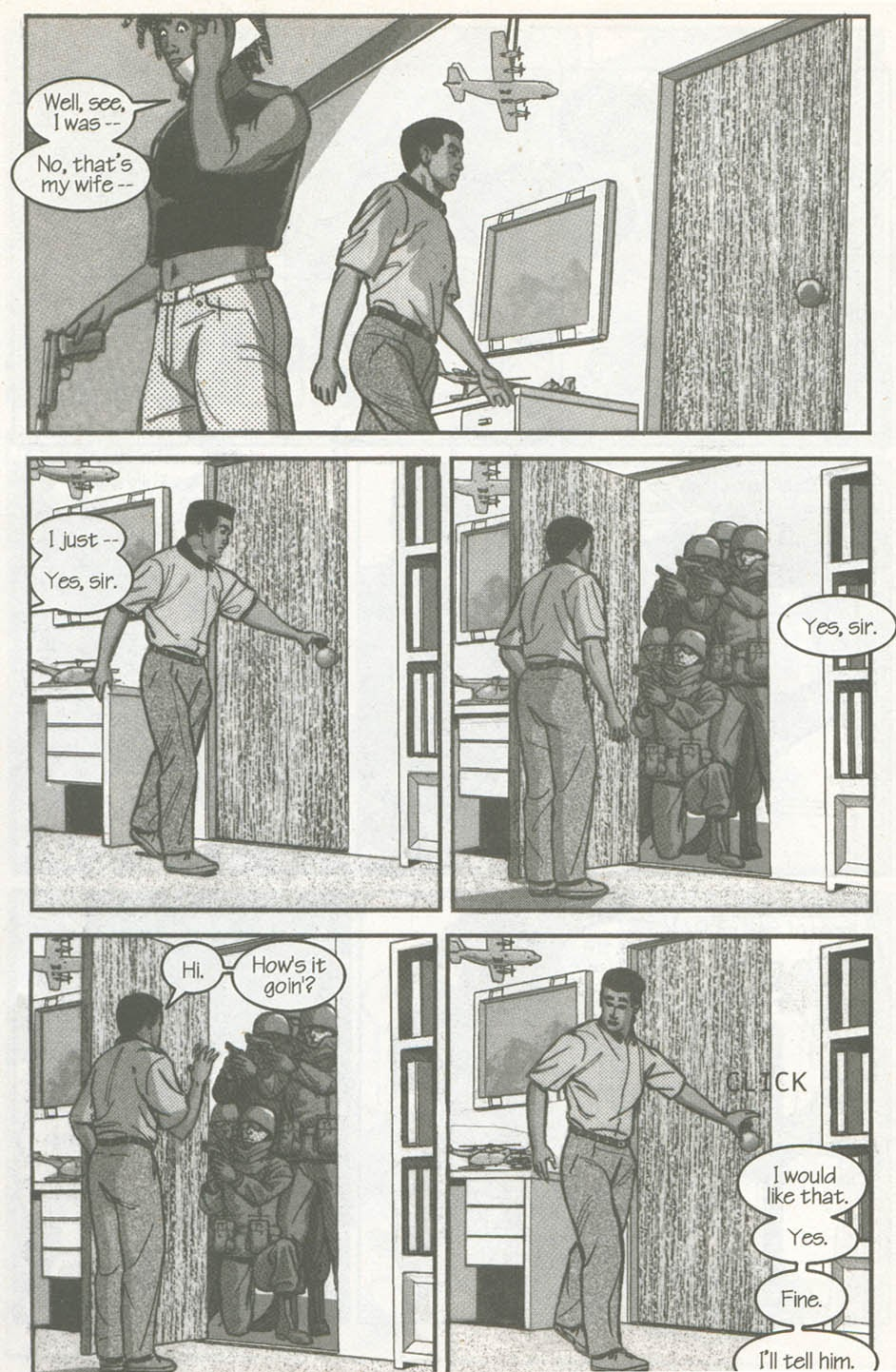 Read online U.S. War Machine comic -  Issue #2 - 19