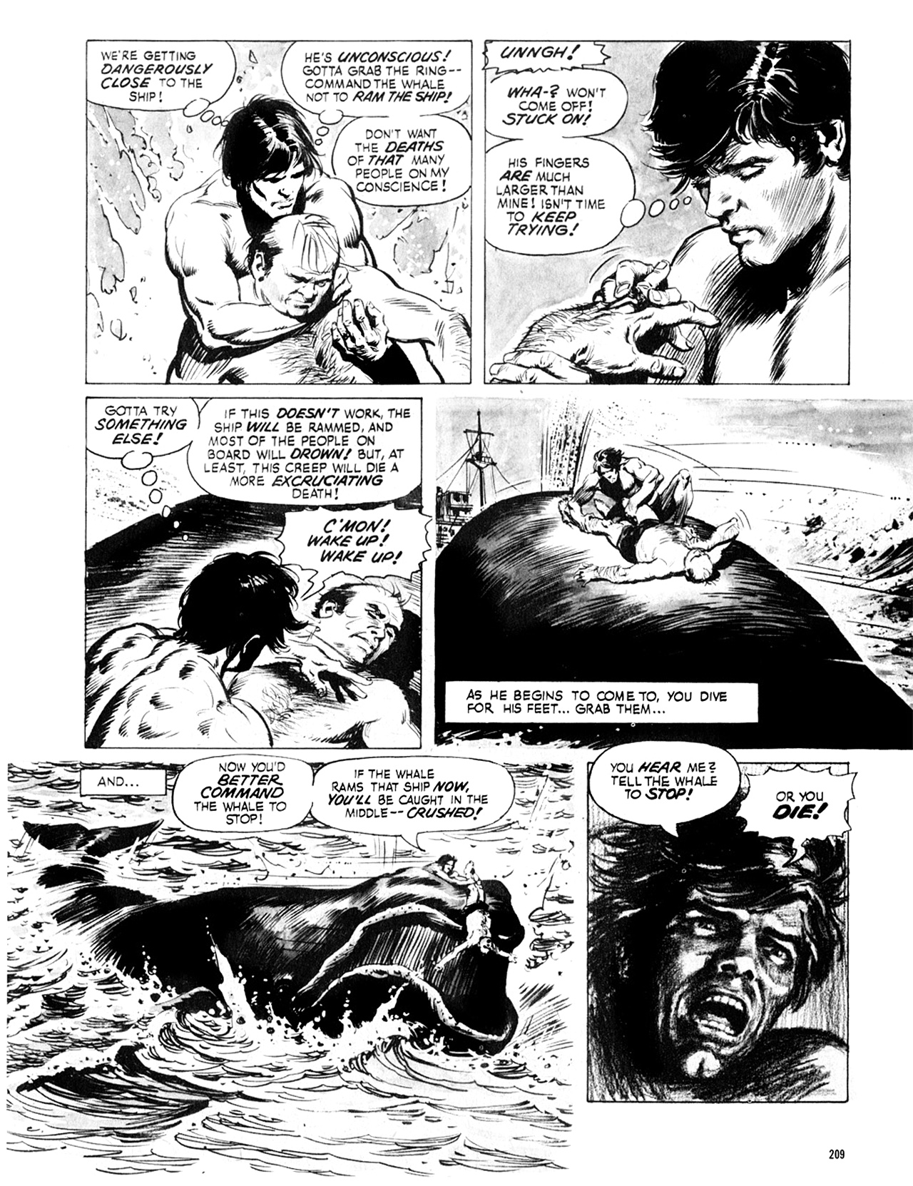 Read online Eerie Archives comic -  Issue # TPB 8 - 210
