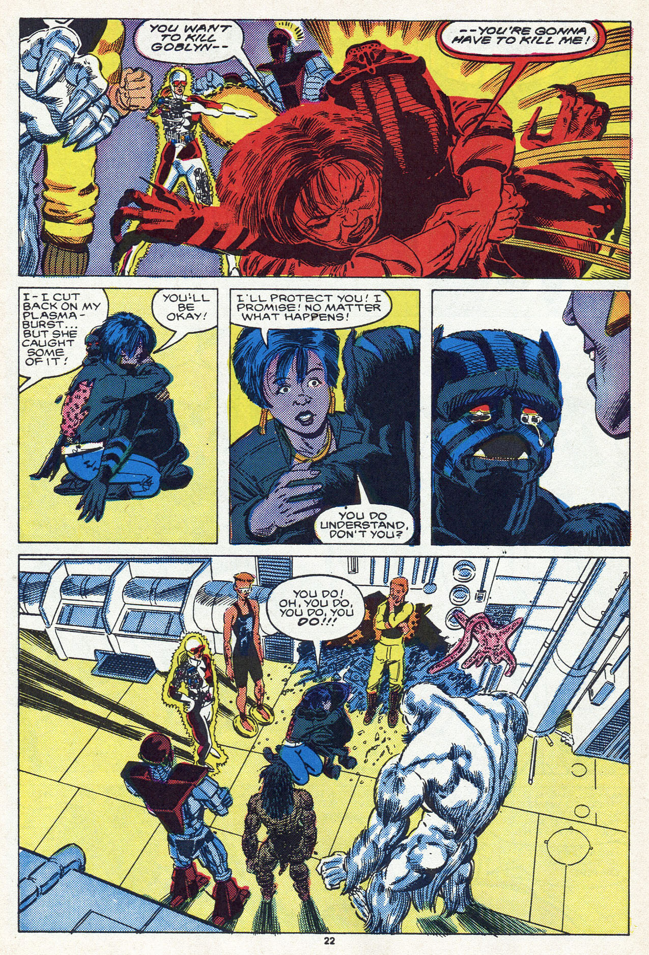 Read online Alpha Flight (1983) comic -  Issue #54 - 31