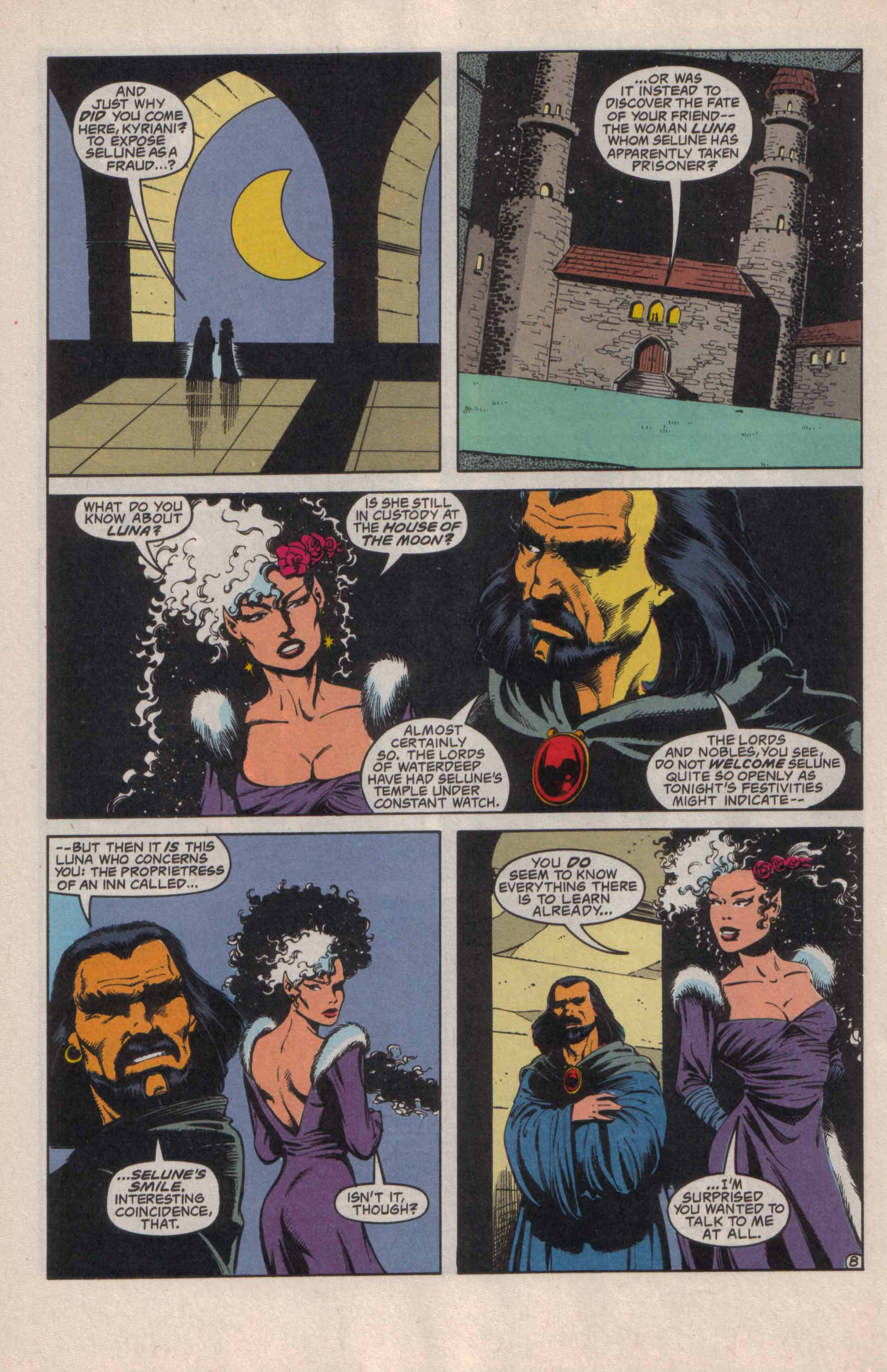 Read online Advanced Dungeons & Dragons comic -  Issue #20 - 9